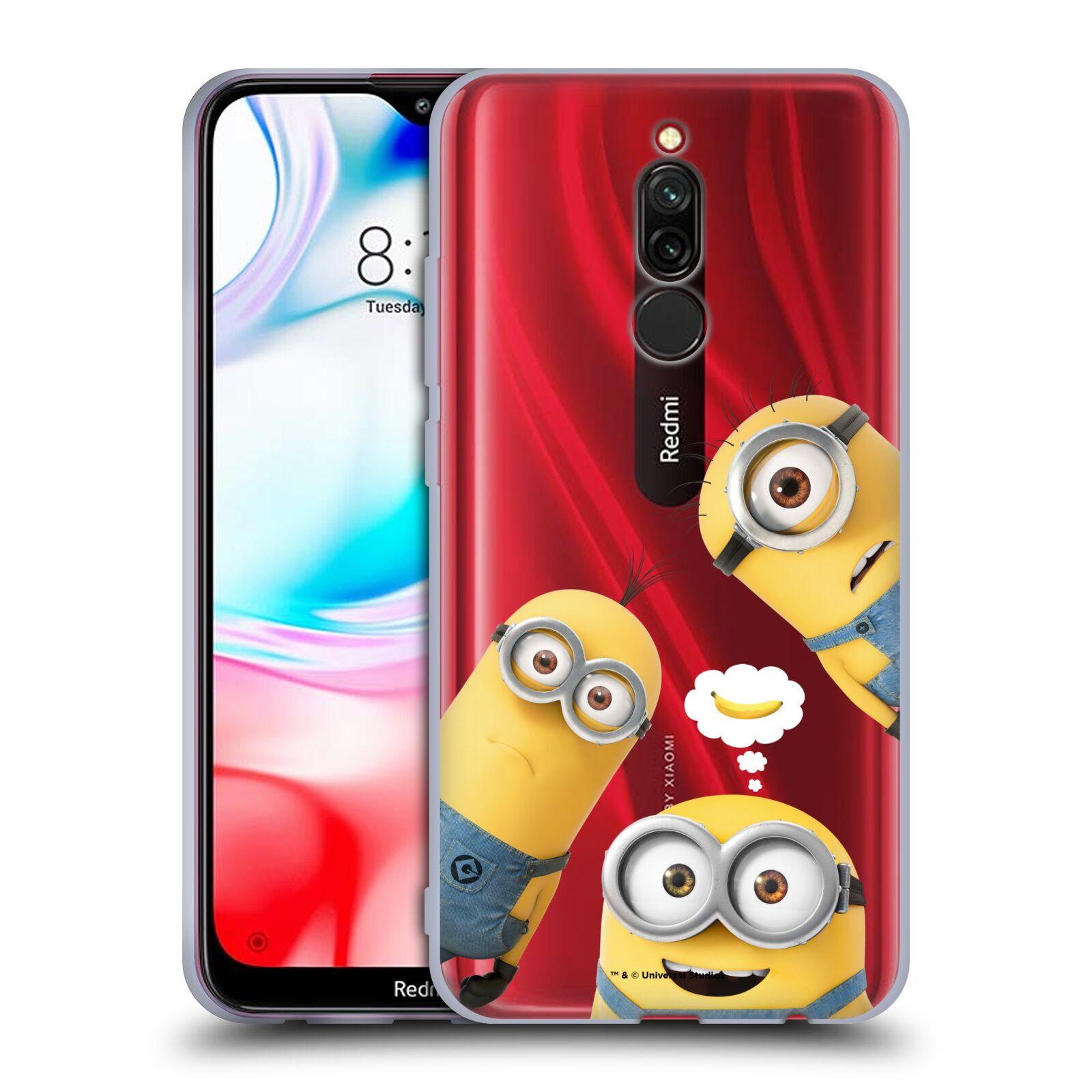 Silikonové pouzdro na mobil Xiaomi Redmi 8 - Head Case - Mimoni Banana z filmu Já, padouch - Despicable Me
