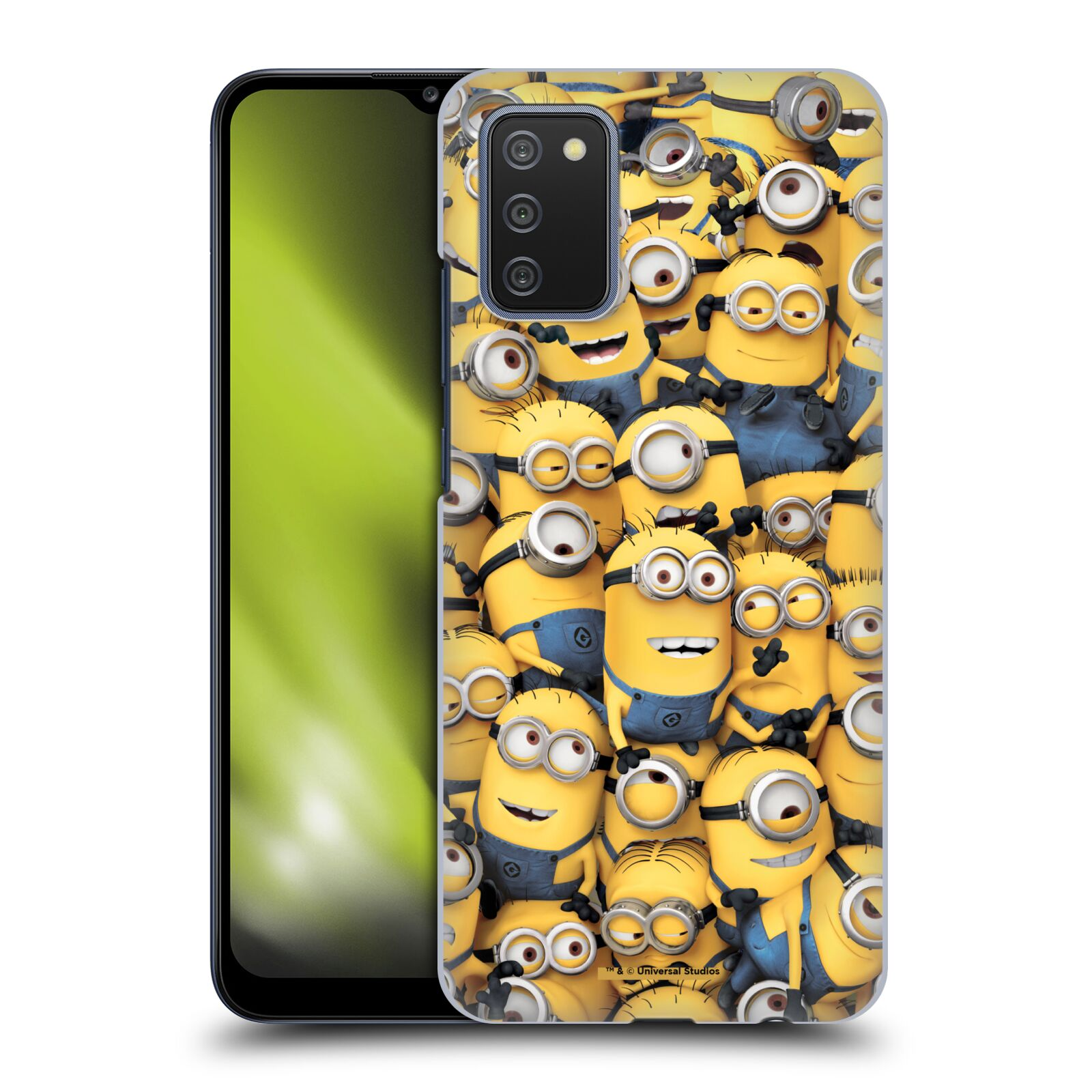 Plastové pouzdro na mobil Samsung Galaxy A02s - Head Case - Mimoni všude z filmu Já, padouch - Despicable Me