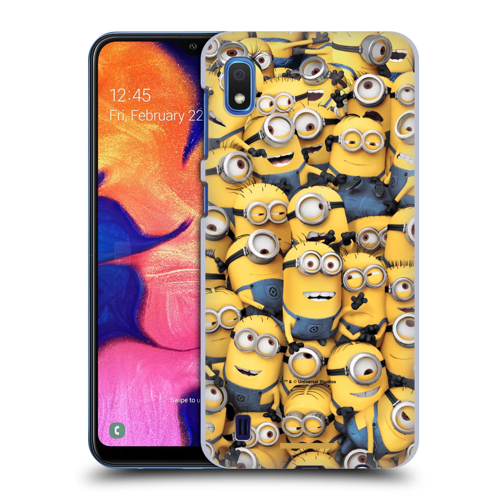 Plastové pouzdro na mobil Samsung Galaxy A10 - Head Case - Mimoni všude z filmu Já, padouch - Despicable Me