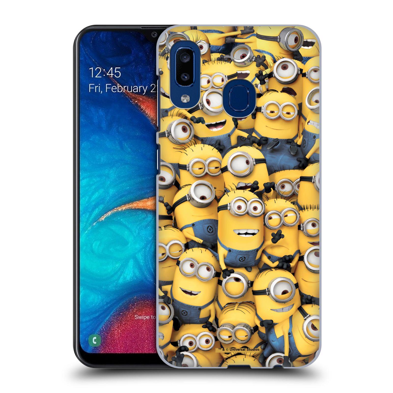 Plastové pouzdro na mobil Samsung Galaxy A20 - Head Case - Mimoni všude z filmu Já, padouch - Despicable Me