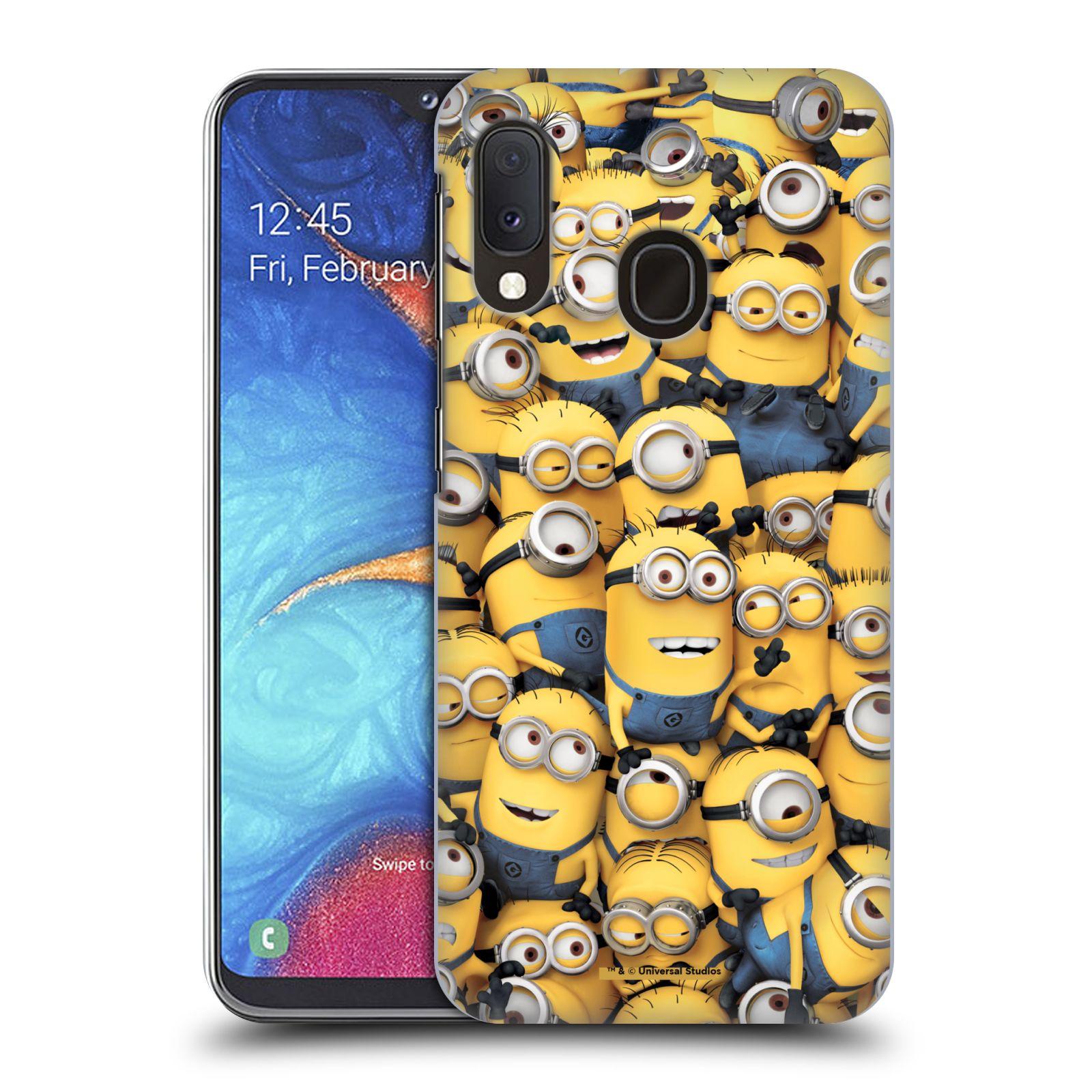 Plastové pouzdro na mobil Samsung Galaxy A20e - Head Case - Mimoni všude z filmu Já, padouch - Despicable Me