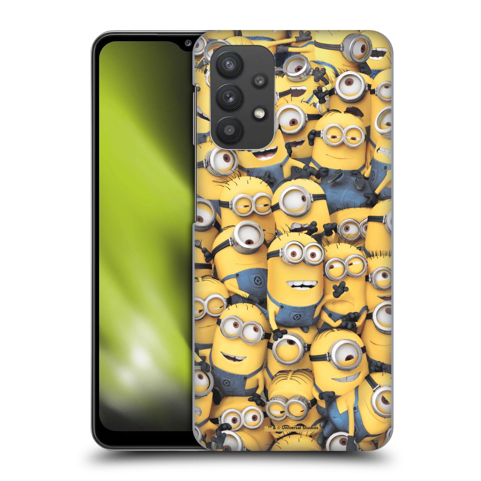 Plastové pouzdro na mobil Samsung Galaxy A32 5G - Head Case - Mimoni všude z filmu Já, padouch - Despicable Me