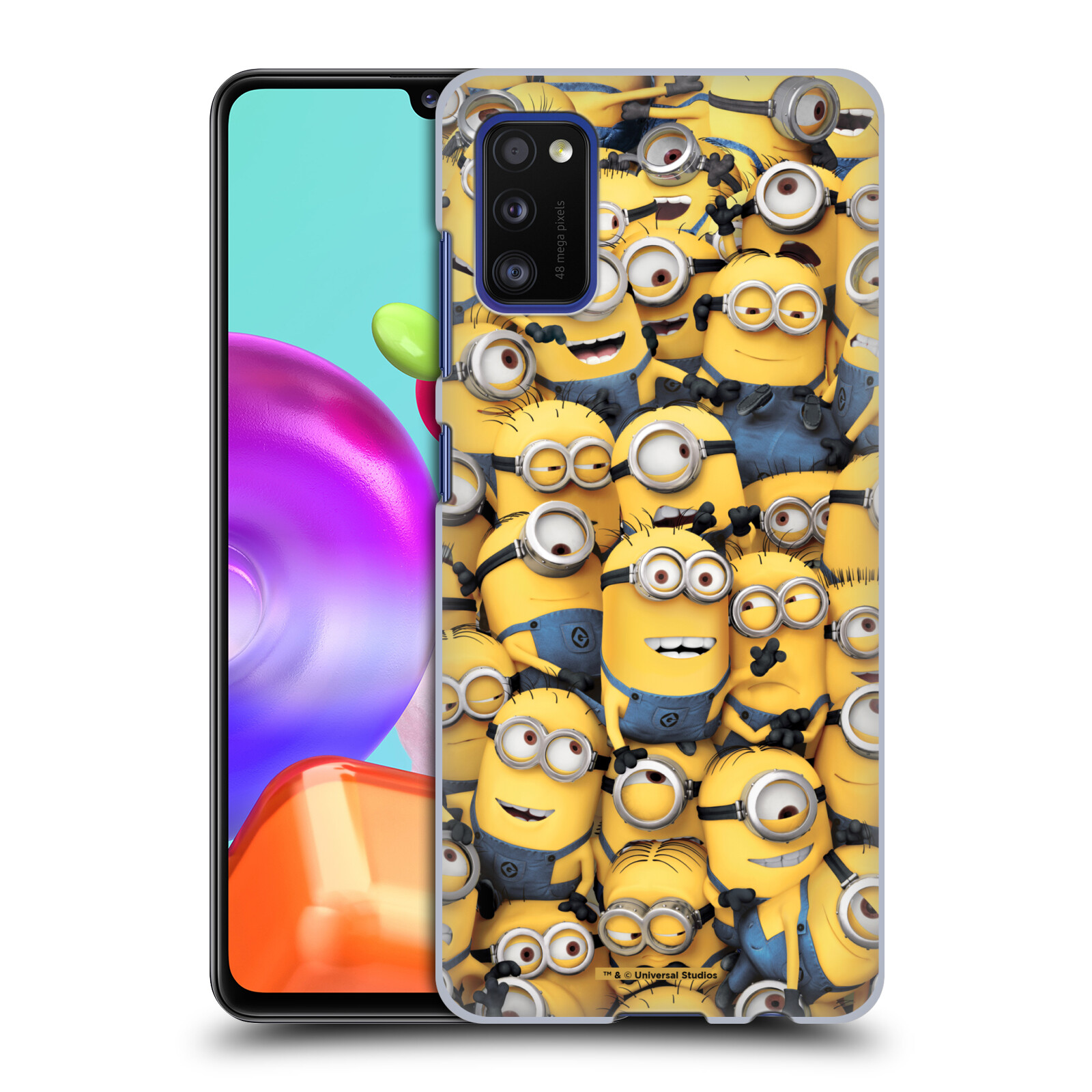 Plastové pouzdro na mobil Samsung Galaxy A41 - Head Case - Mimoni všude z filmu Já, padouch - Despicable Me