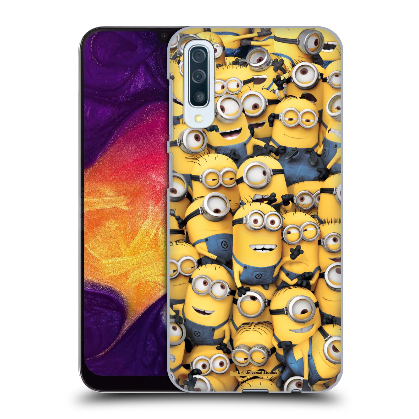 Plastové pouzdro na mobil Samsung Galaxy A50 - Head Case - Mimoni všude z filmu Já, padouch - Despicable Me