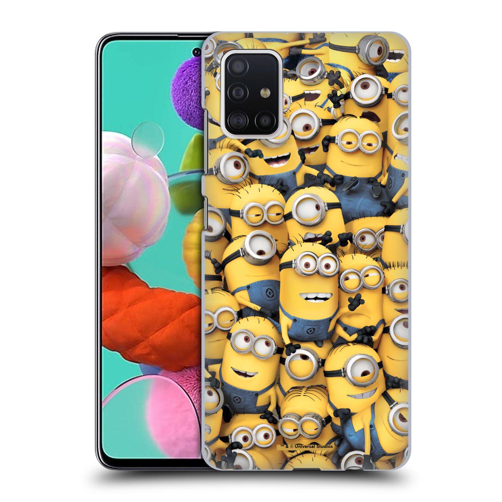 Plastové pouzdro na mobil Samsung Galaxy A51 - Head Case - Mimoni všude z filmu Já, padouch - Despicable Me