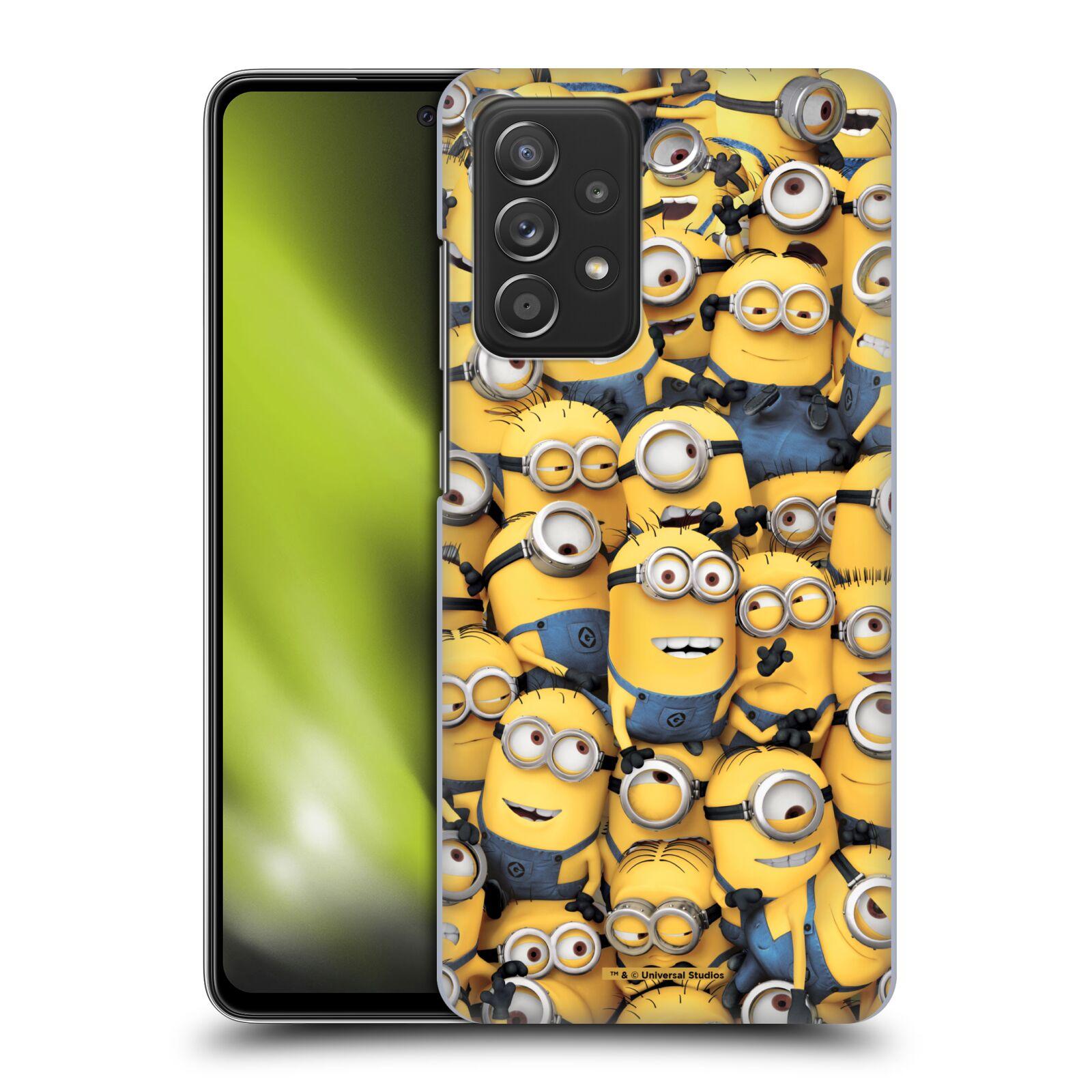 Plastové pouzdro na mobil Samsung Galaxy A52 / A52 5G / A52s 5G - Head Case - Mimoni všude z filmu Já, padouch - Despicable Me