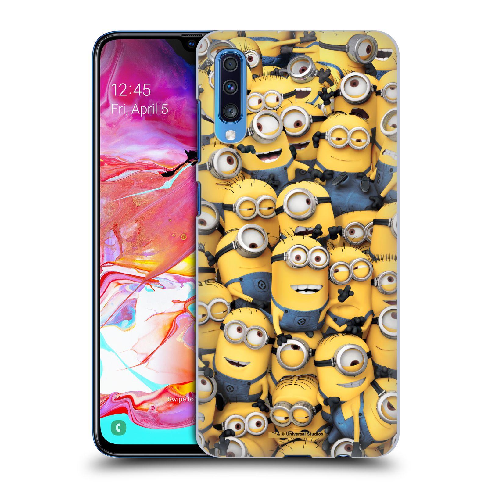 Plastové pouzdro na mobil Samsung Galaxy A70 - Head Case - Mimoni všude z filmu Já, padouch - Despicable Me