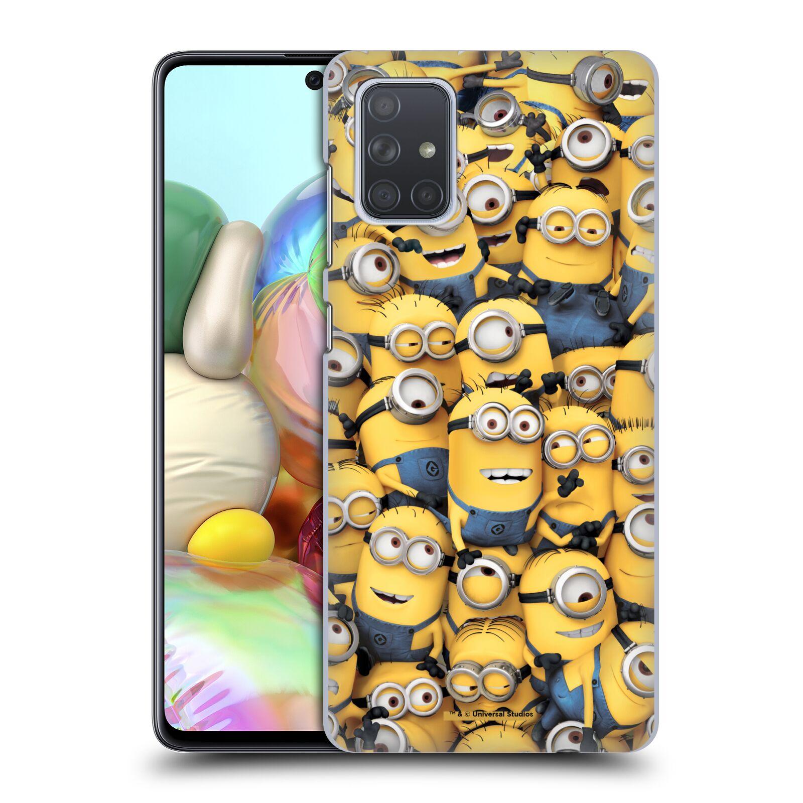 Plastové pouzdro na mobil Samsung Galaxy A71 - Head Case - Mimoni všude z filmu Já, padouch - Despicable Me