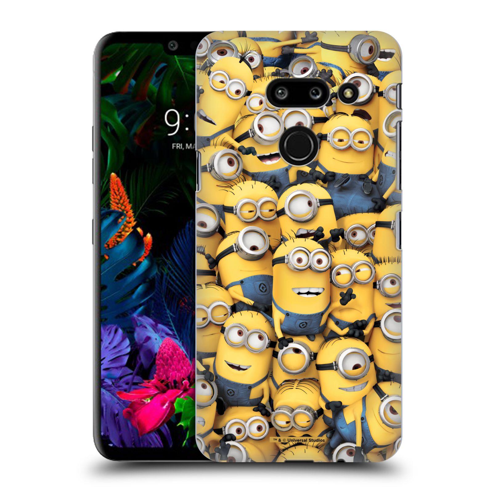 Plastové pouzdro na mobil LG G8 ThinQ - Head Case - Mimoni všude z filmu Já, padouch - Despicable Me