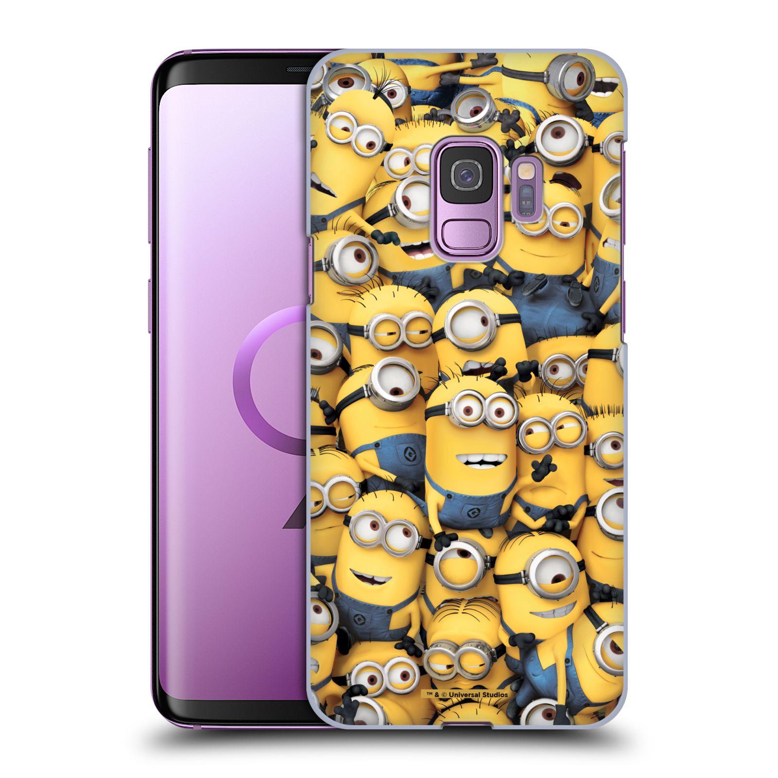 Plastové pouzdro na mobil Samsung Galaxy S9 - Head Case - Mimoni všude z filmu Já, padouch - Despicable Me
