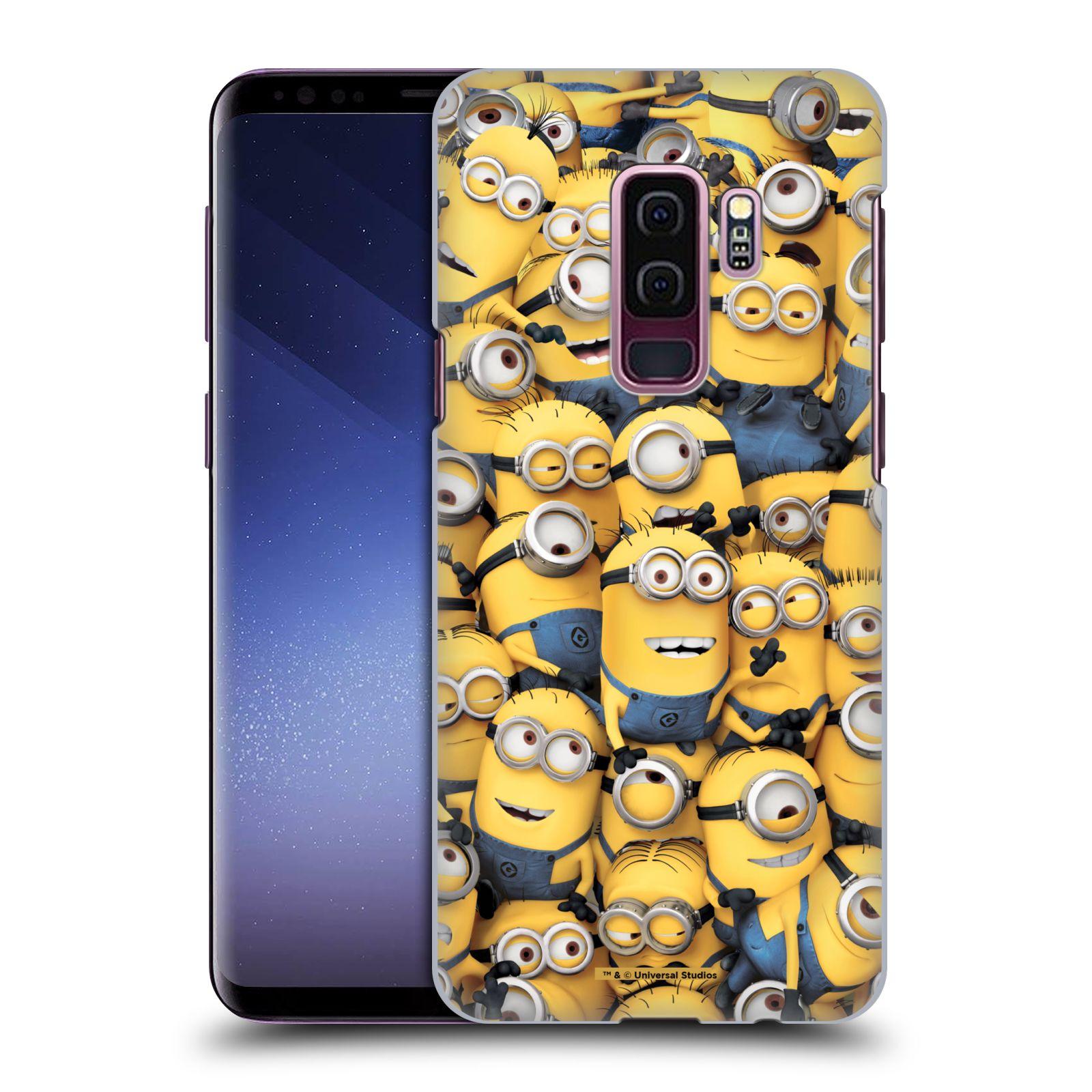 Plastové pouzdro na mobil Samsung Galaxy S9 Plus - Head Case - Mimoni všude z filmu Já, padouch - Despicable Me