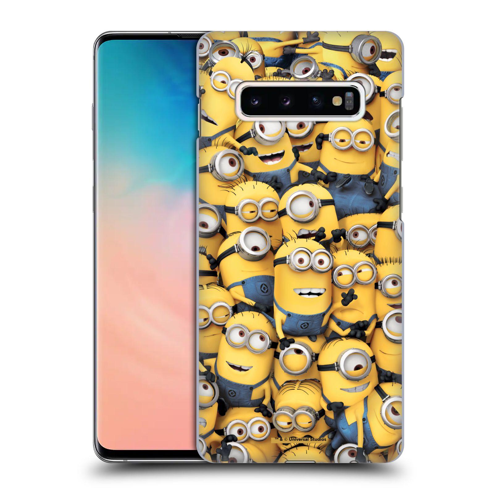 Plastové pouzdro na mobil Samsung Galaxy S10 Plus - Head Case - Mimoni všude z filmu Já, padouch - Despicable Me