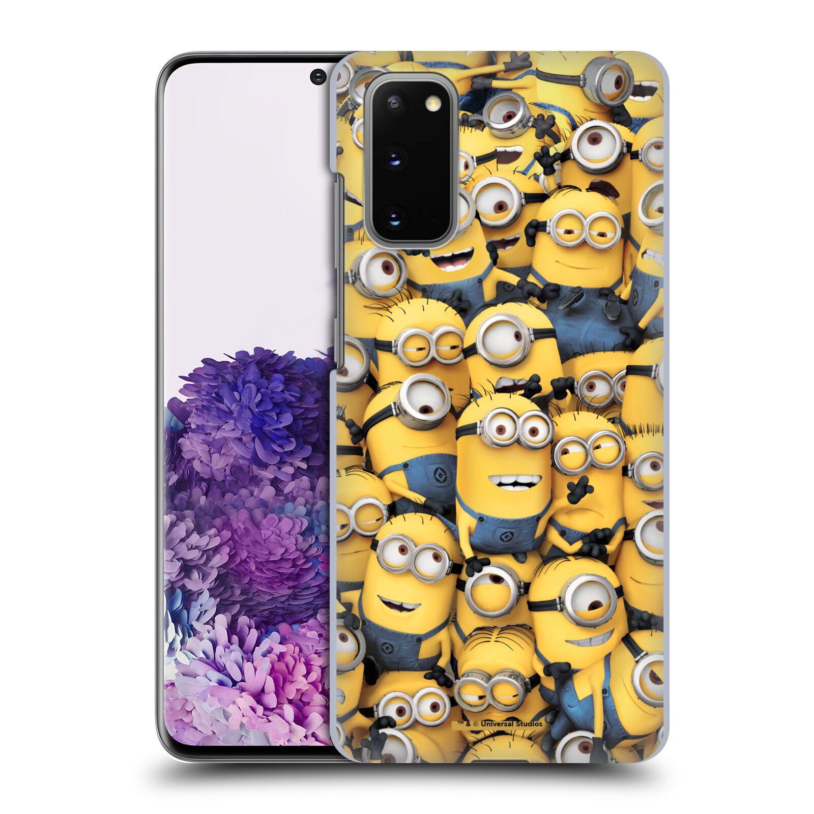 Plastové pouzdro na mobil Samsung Galaxy S20 - Head Case - Mimoni všude z filmu Já, padouch - Despicable Me