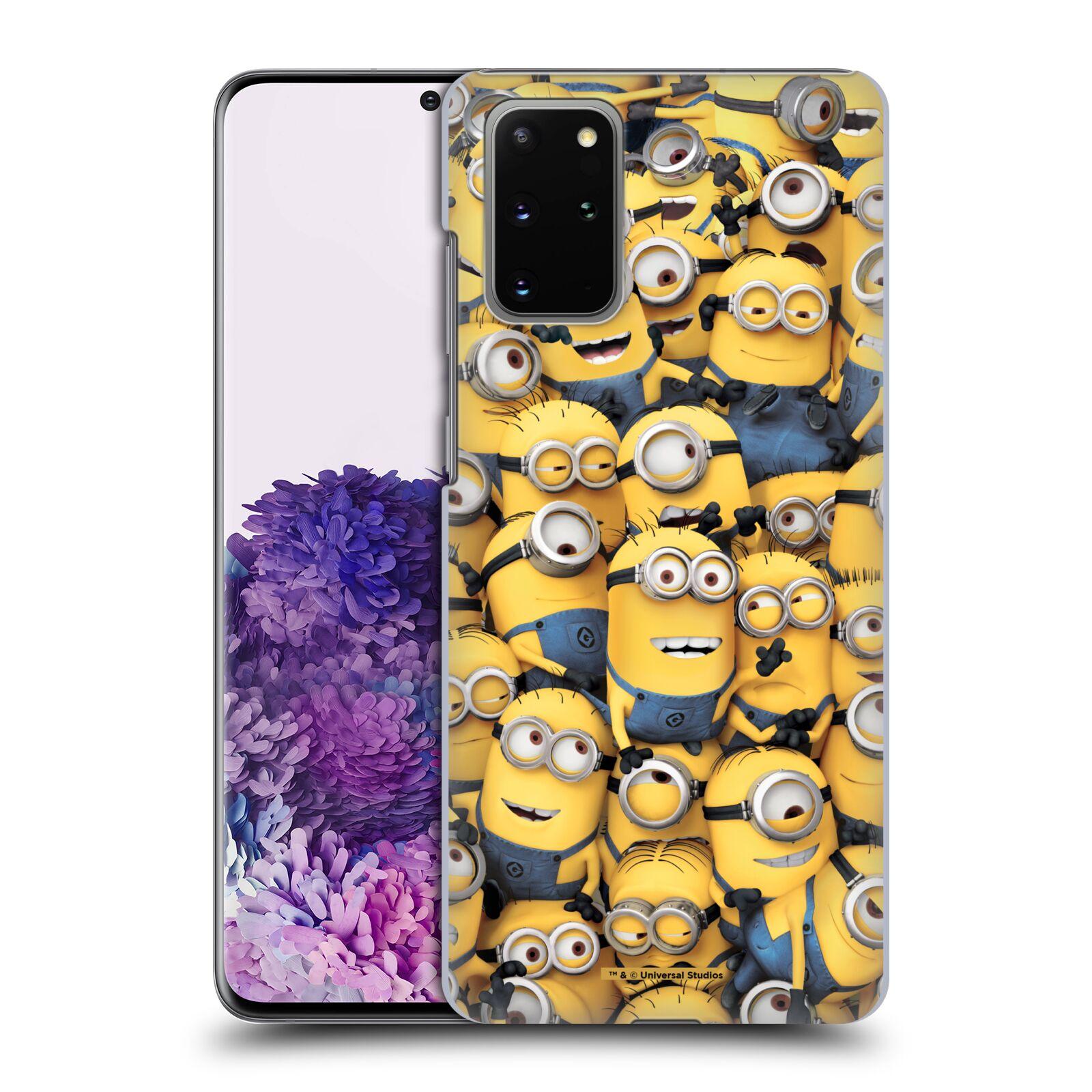 Plastové pouzdro na mobil Samsung Galaxy S20 Plus - Head Case - Mimoni všude z filmu Já, padouch - Despicable Me