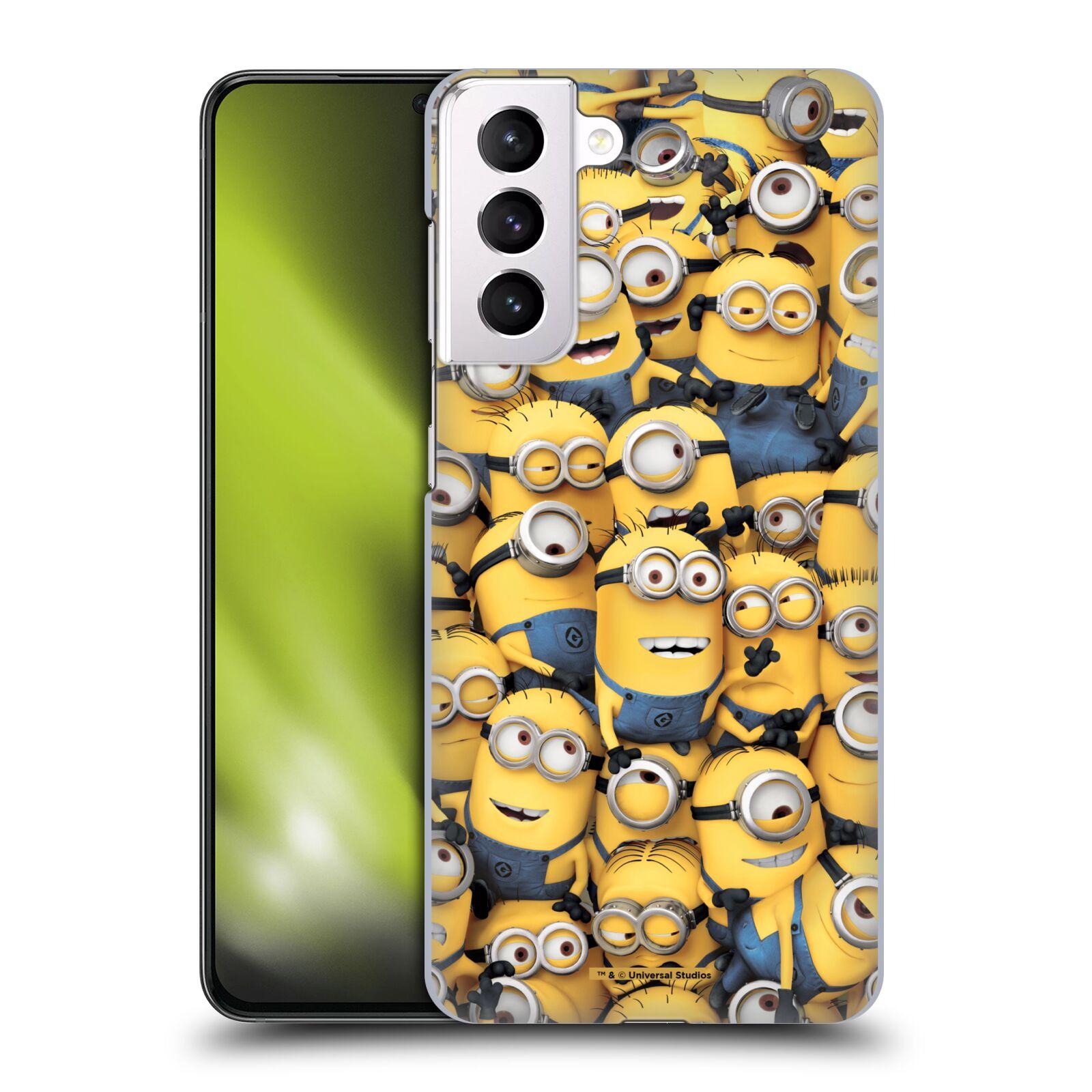 Plastové pouzdro na mobil Samsung Galaxy S21 Plus 5G - Head Case - Mimoni všude z filmu Já, padouch - Despicable Me