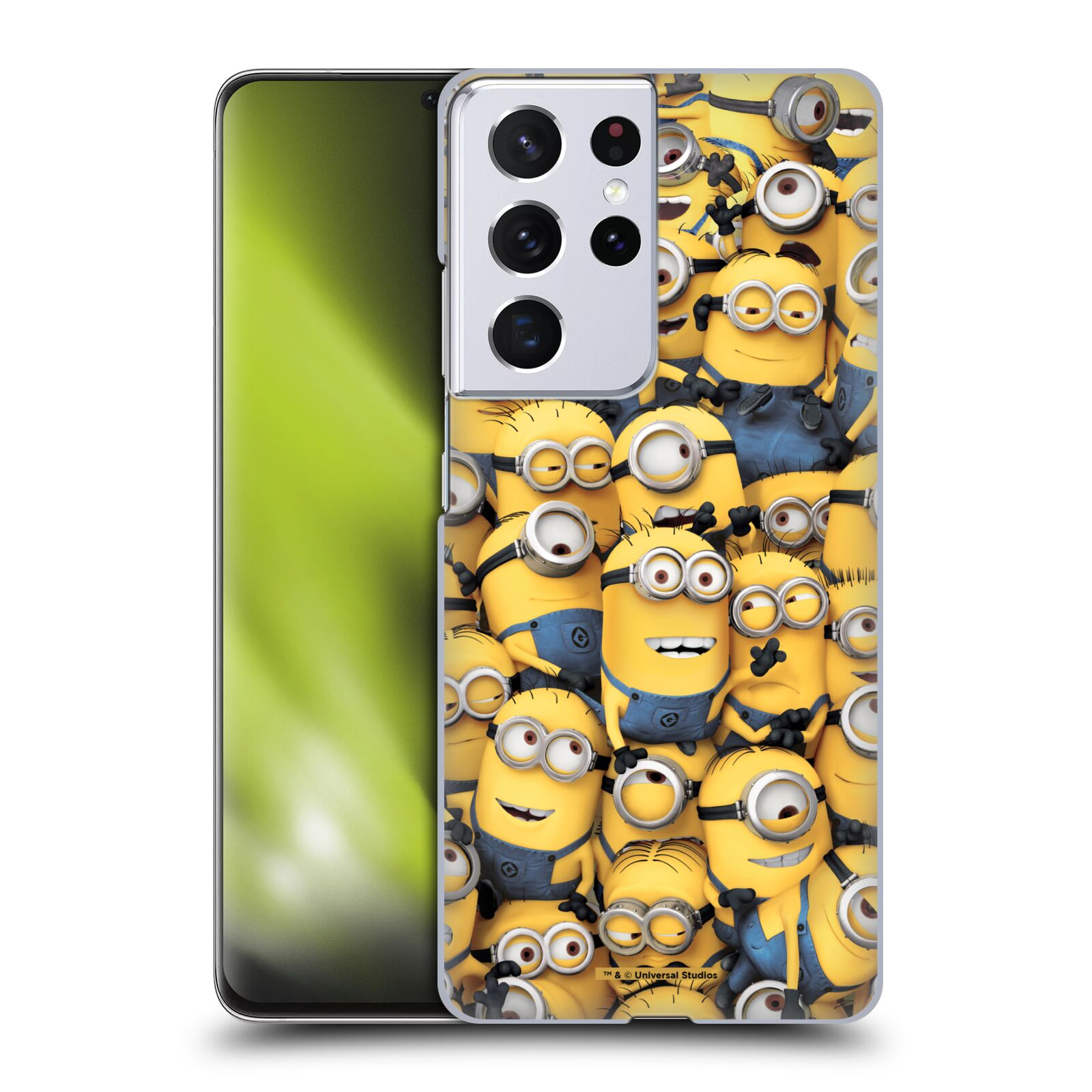 Plastové pouzdro na mobil Samsung Galaxy S21 Ultra 5G - Head Case - Mimoni všude z filmu Já, padouch - Despicable Me
