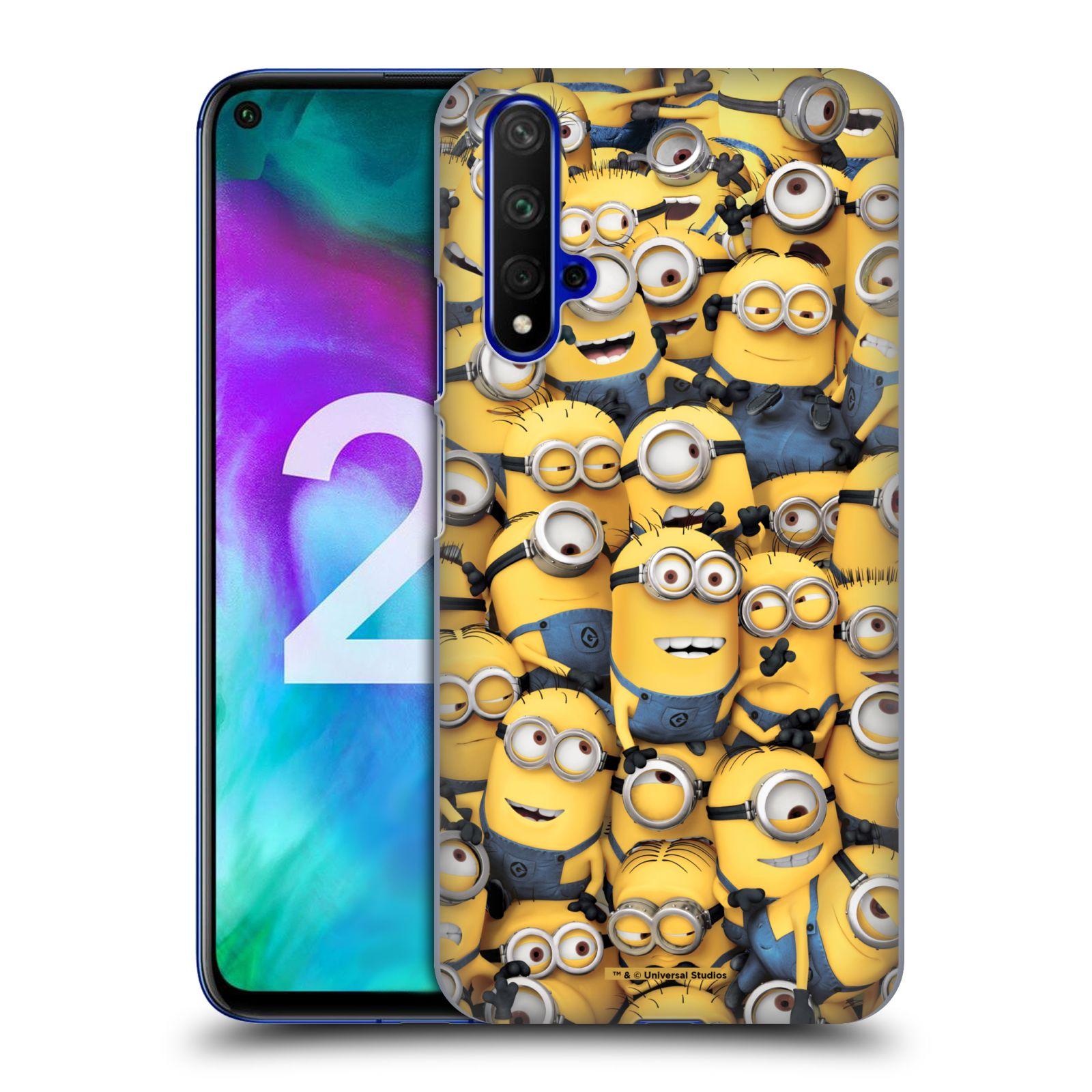 Plastové pouzdro na mobil Honor 20 - Head Case - Mimoni všude z filmu Já, padouch - Despicable Me