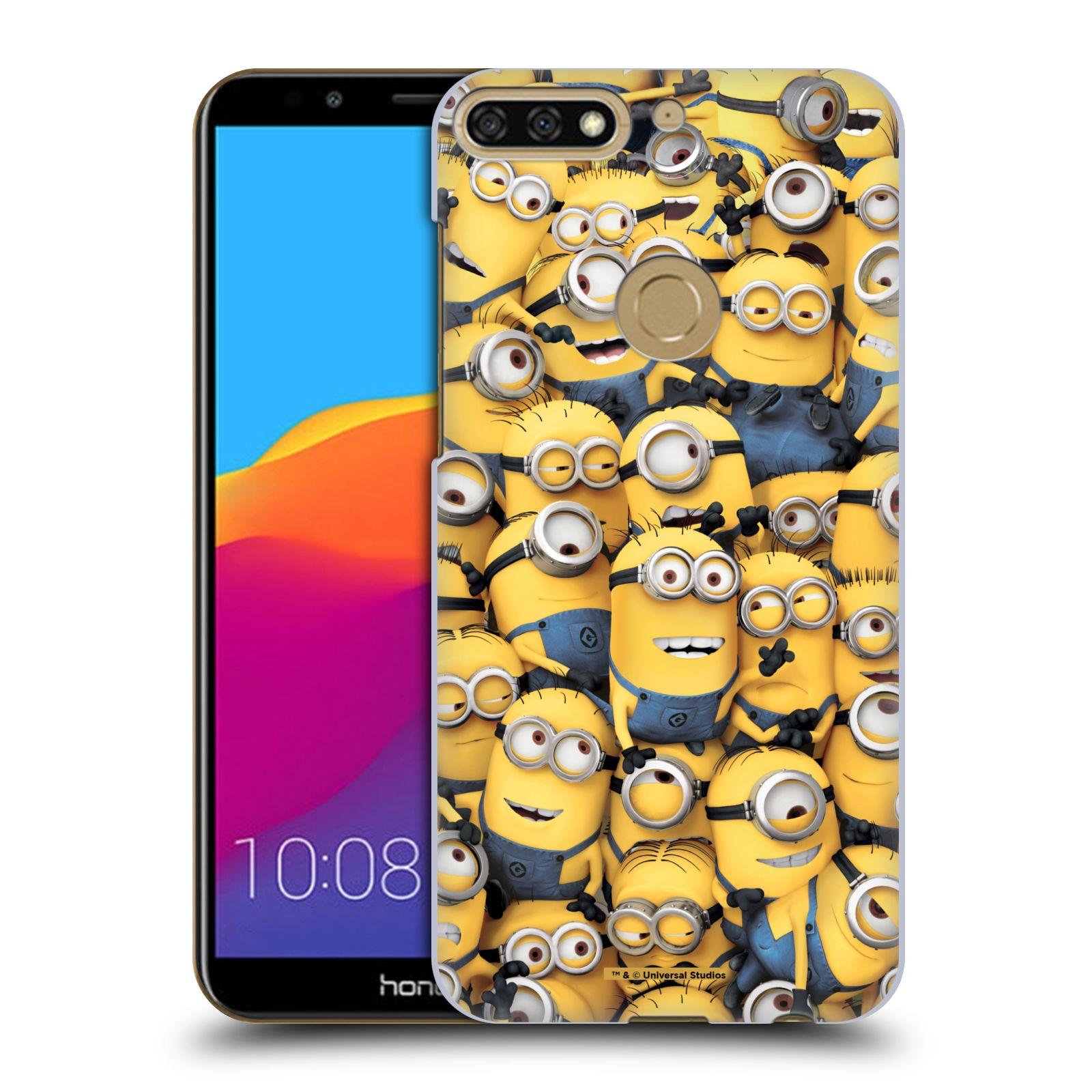Plastové pouzdro na mobil Huawei Y7 Prime 2018 - Head Case - Mimoni všude z filmu Já, padouch - Despicable Me
