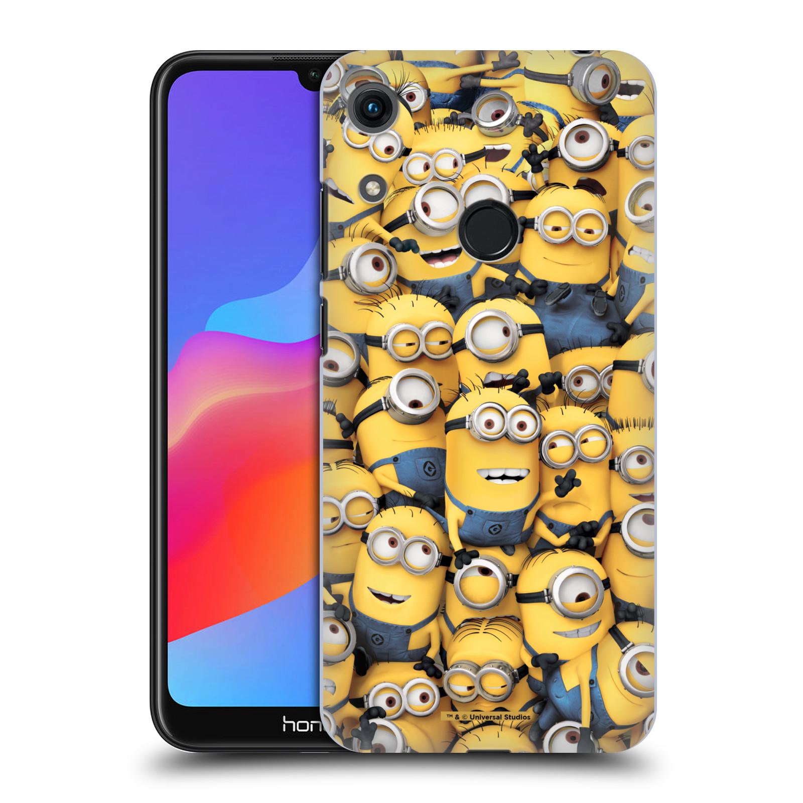 Plastové pouzdro na mobil Honor 8A - Head Case - Mimoni všude z filmu Já, padouch - Despicable Me