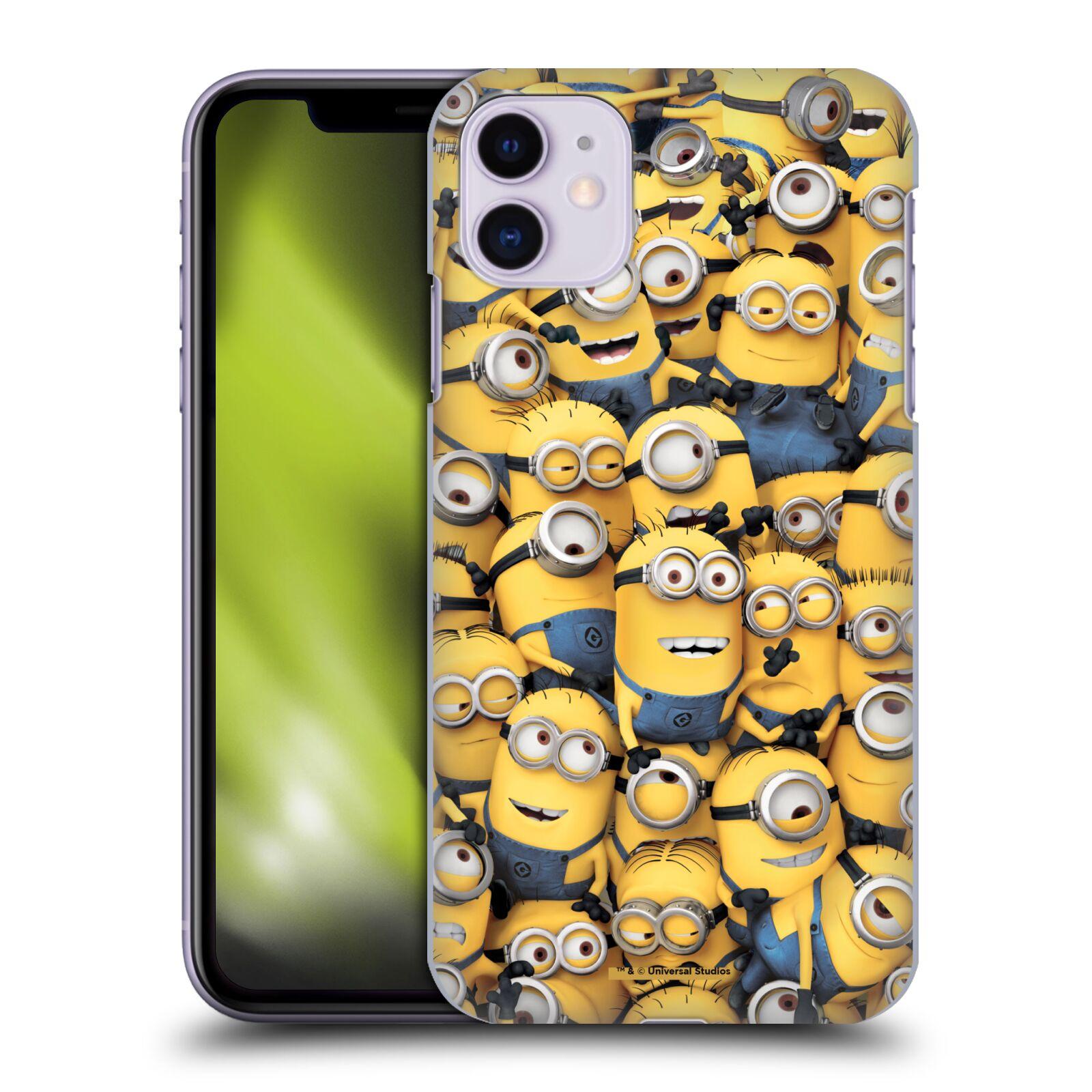 Plastové pouzdro na mobil Apple iPhone 11 - Head Case - Mimoni všude z filmu Já, padouch - Despicable Me