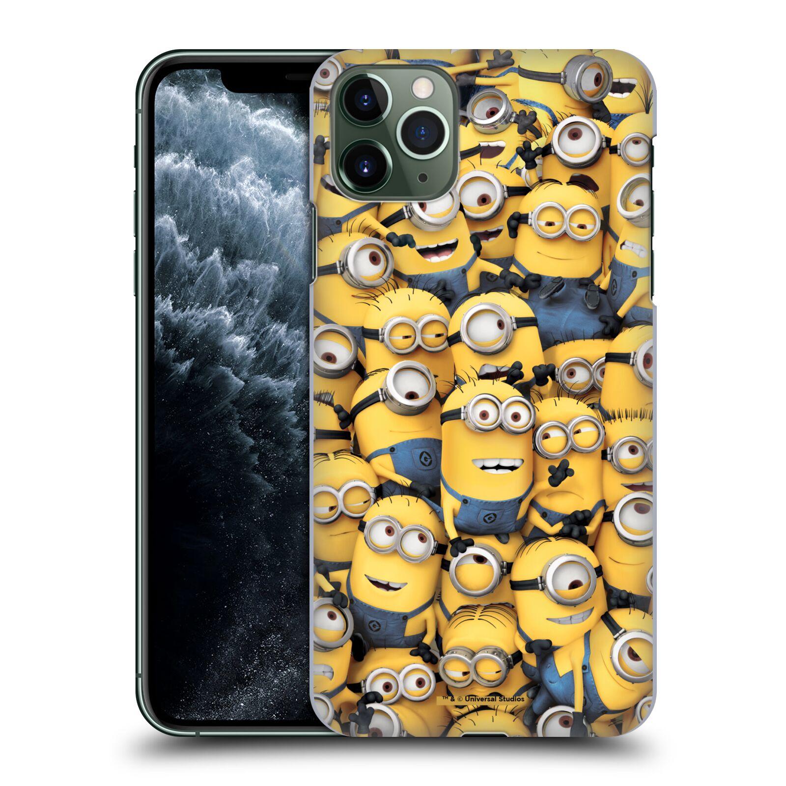 Plastové pouzdro na mobil Apple iPhone 11 Pro Max - Head Case - Mimoni všude z filmu Já, padouch - Despicable Me