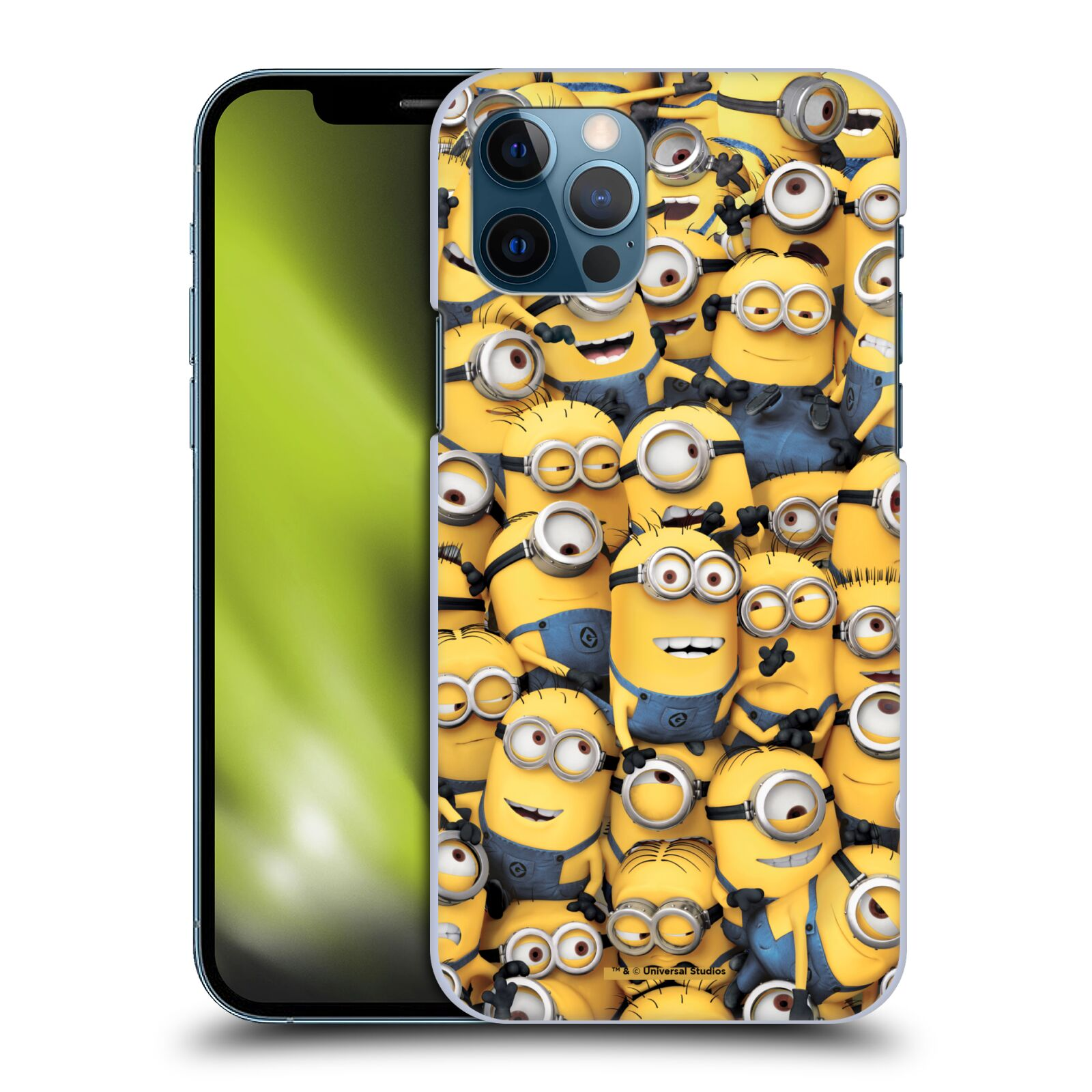 Plastové pouzdro na mobil Apple iPhone 12 / 12 Pro - Head Case - Mimoni všude z filmu Já, padouch - Despicable Me