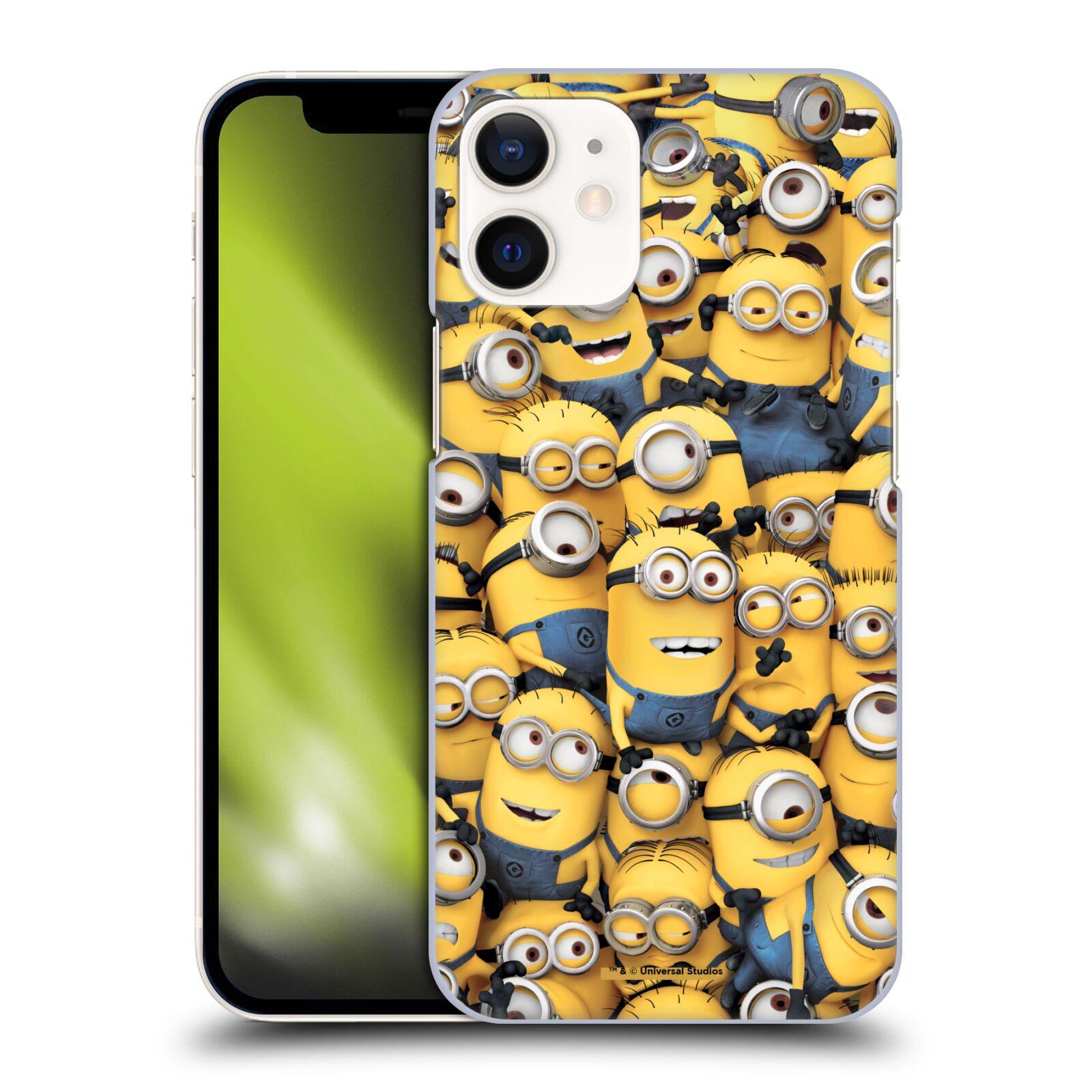 Plastové pouzdro na mobil Apple iPhone 12 Mini - Head Case - Mimoni všude z filmu Já, padouch - Despicable Me