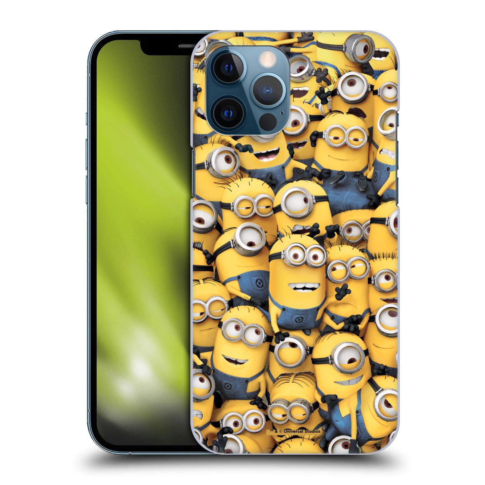 Plastové pouzdro na mobil Apple iPhone 12 Pro Max - Head Case - Mimoni všude z filmu Já, padouch - Despicable Me