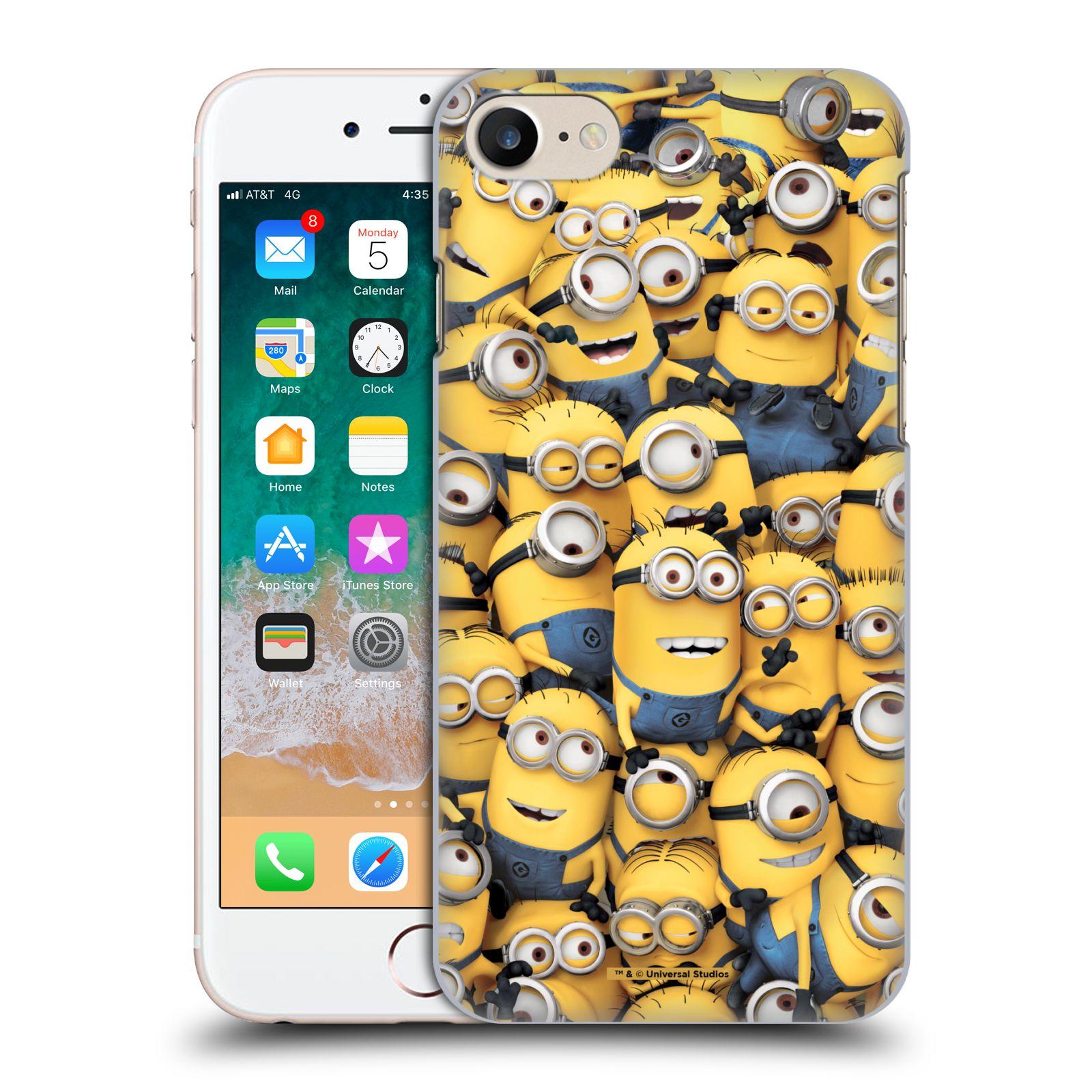 Plastové pouzdro na mobil Apple iPhone SE (2020) - Head Case - Mimoni všude z filmu Já, padouch - Despicable Me