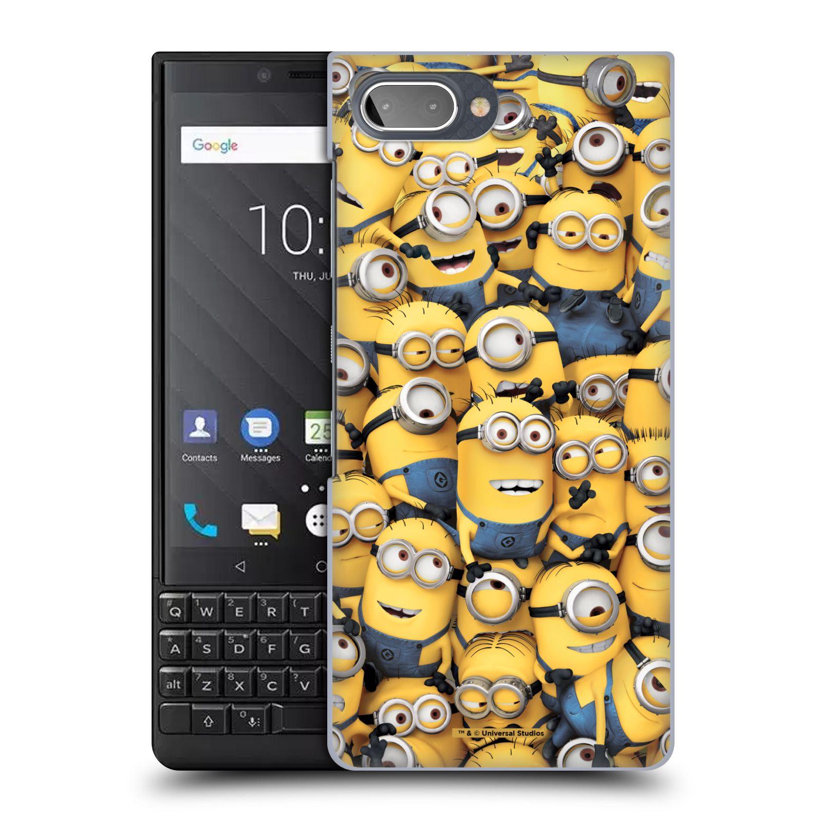 Plastové pouzdro na mobil Blackberry Key 2 - Head Case - Mimoni všude z filmu Já, padouch - Despicable Me