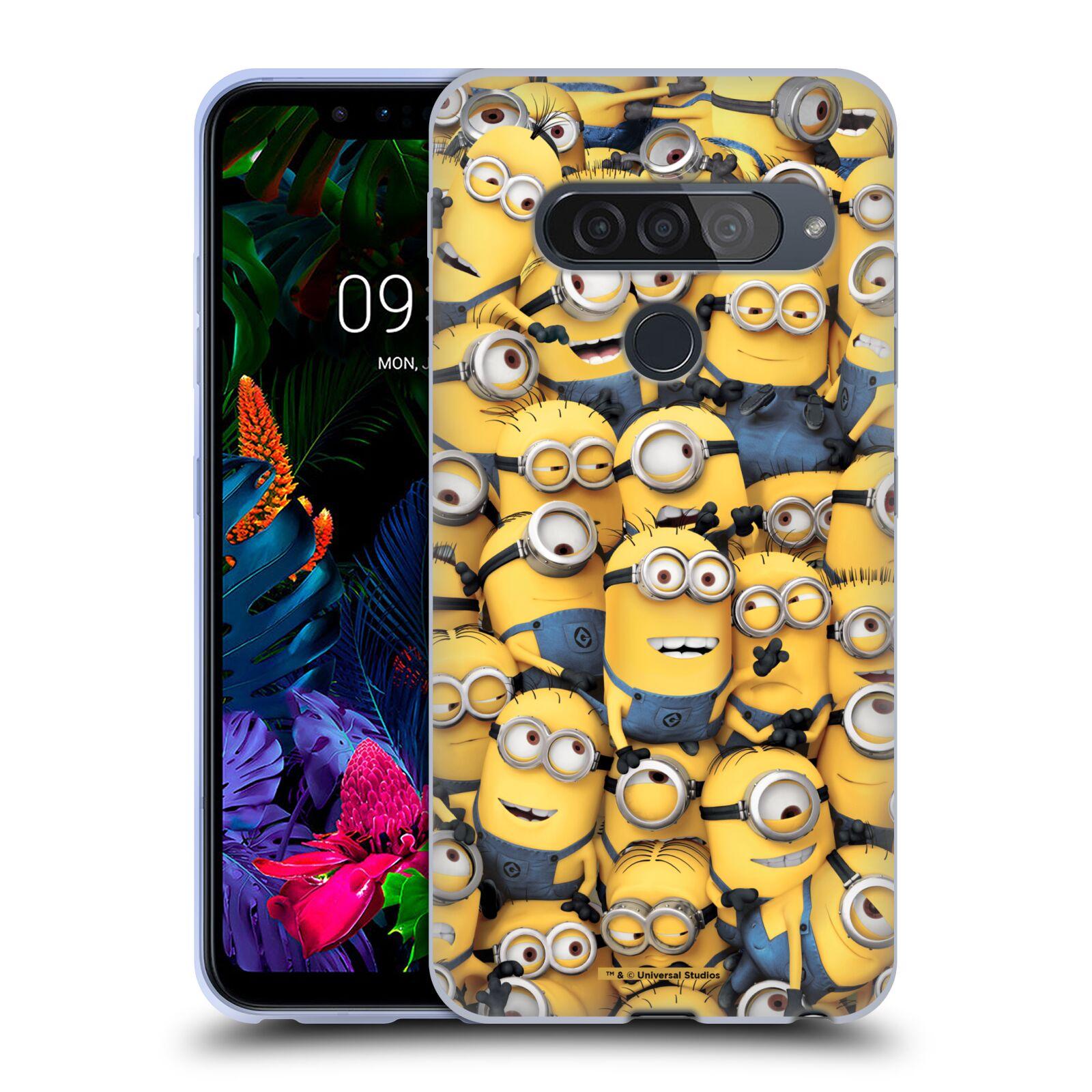 Silikonové pouzdro na mobil LG G8s ThinQ - Head Case - Mimoni všude z filmu Já, padouch - Despicable Me