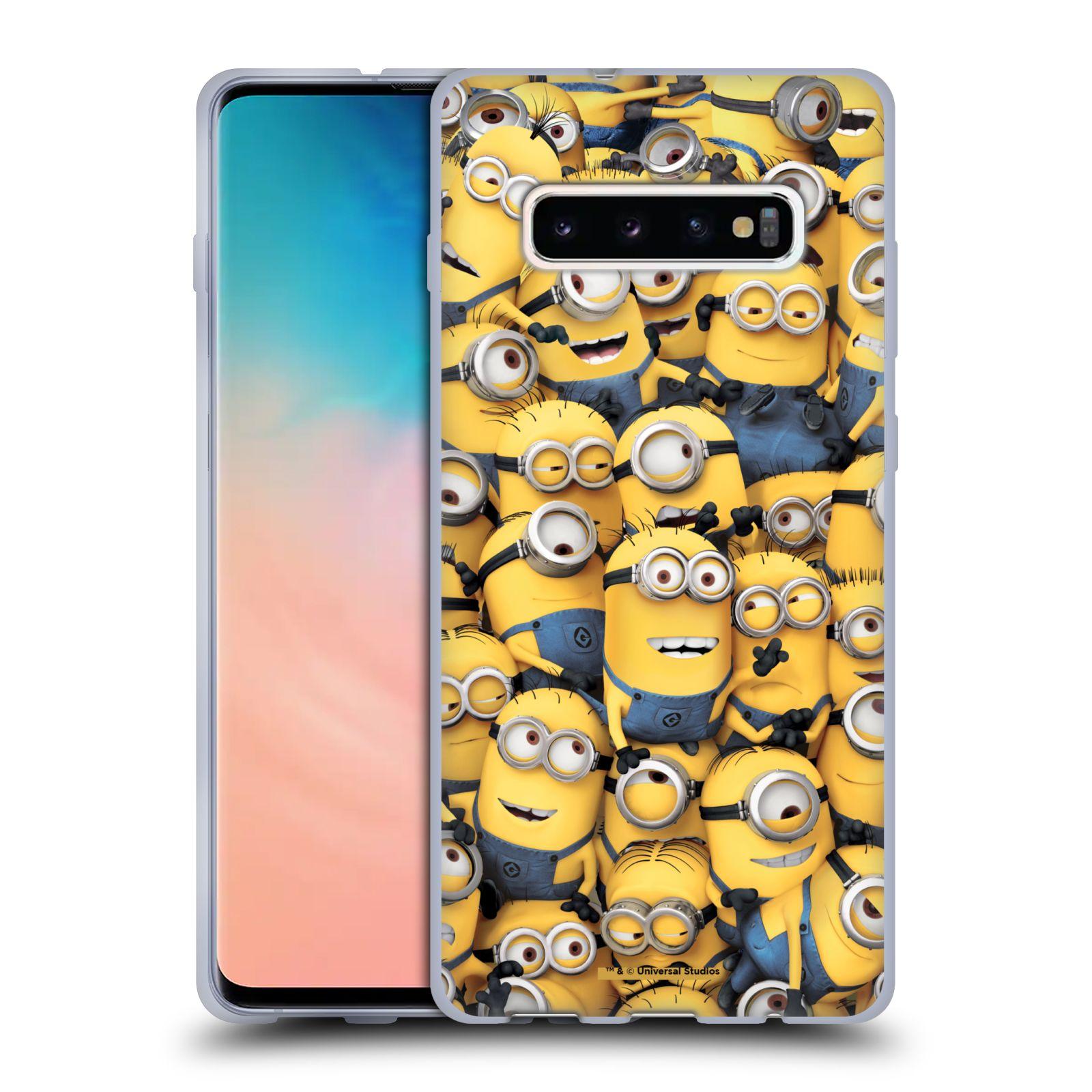 Silikonové pouzdro na mobil Samsung Galaxy S10 Plus - Head Case - Mimoni všude z filmu Já, padouch - Despicable Me