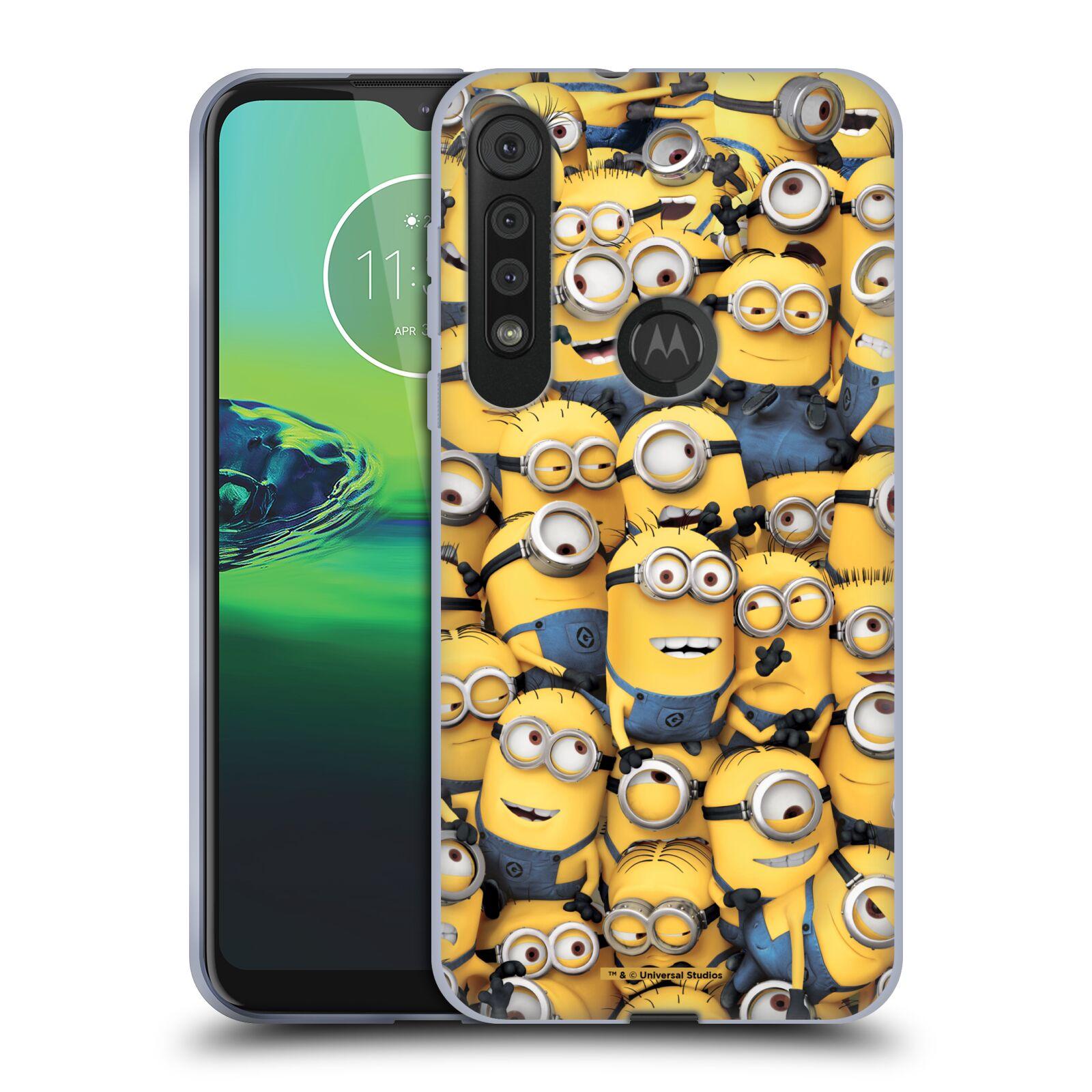 Silikonové pouzdro na mobil Motorola One Macro - Head Case - Mimoni všude z filmu Já, padouch - Despicable Me