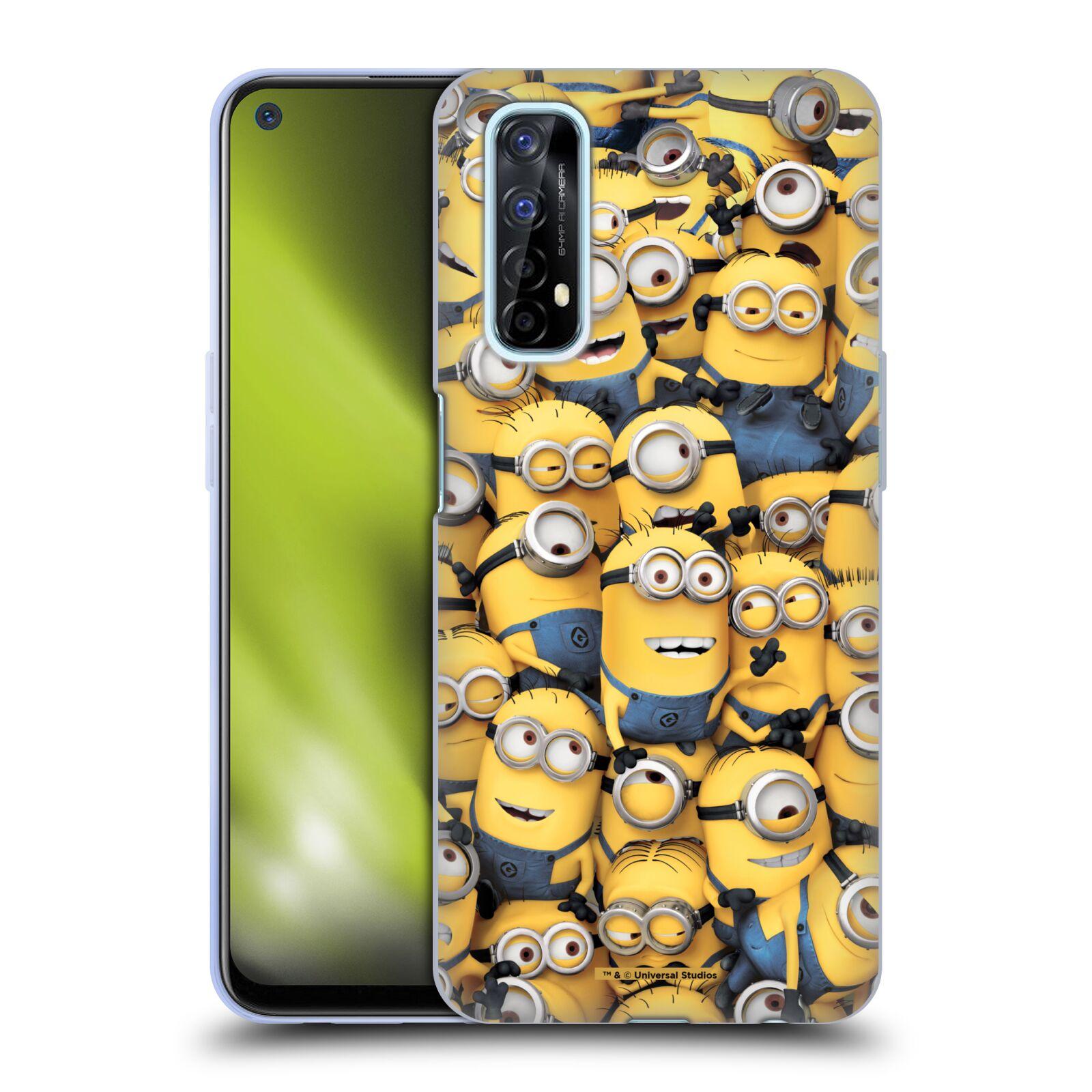 Silikonové pouzdro na mobil Realme 7 - Head Case - Mimoni všude z filmu Já, padouch - Despicable Me