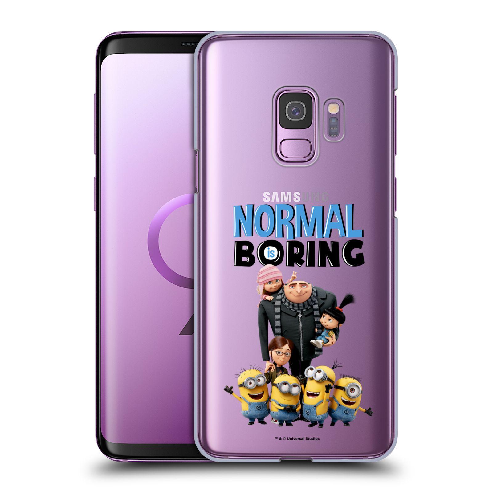 Plastové pouzdro na mobil Samsung Galaxy S9 - Head Case - Normal is boring z filmu Já, padouch - Despicable Me