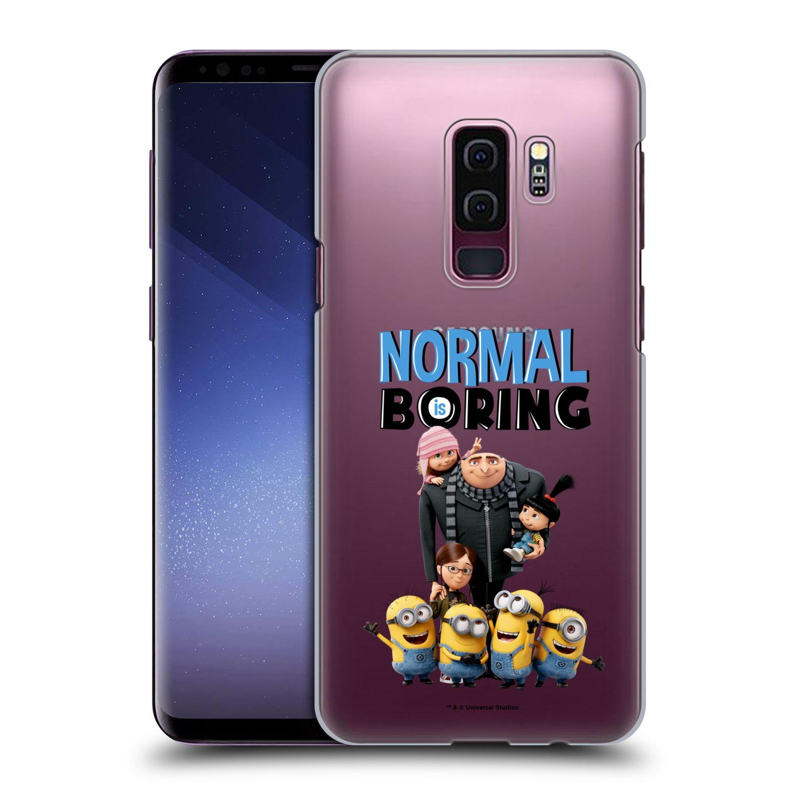 Plastové pouzdro na mobil Samsung Galaxy S9 Plus - Head Case - Normal is boring z filmu Já, padouch - Despicable Me