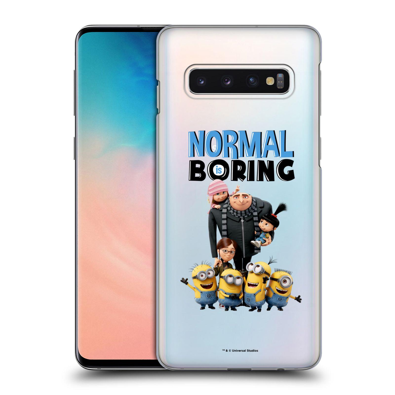 Plastové pouzdro na mobil Samsung Galaxy S10 - Head Case - Normal is boring z filmu Já, padouch - Despicable Me