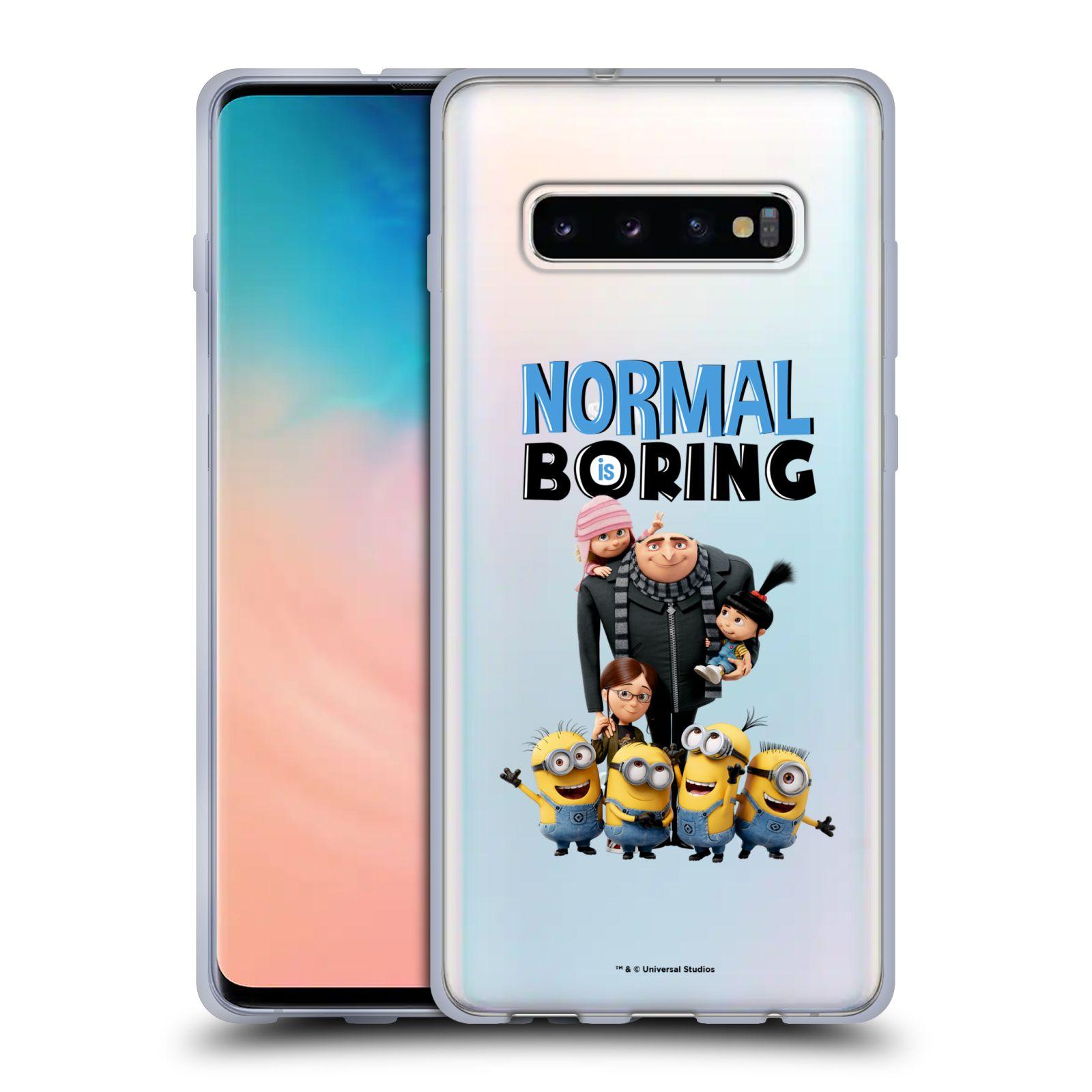 Silikonové pouzdro na mobil Samsung Galaxy S10 Plus - Head Case - Normal is boring z filmu Já, padouch - Despicable Me