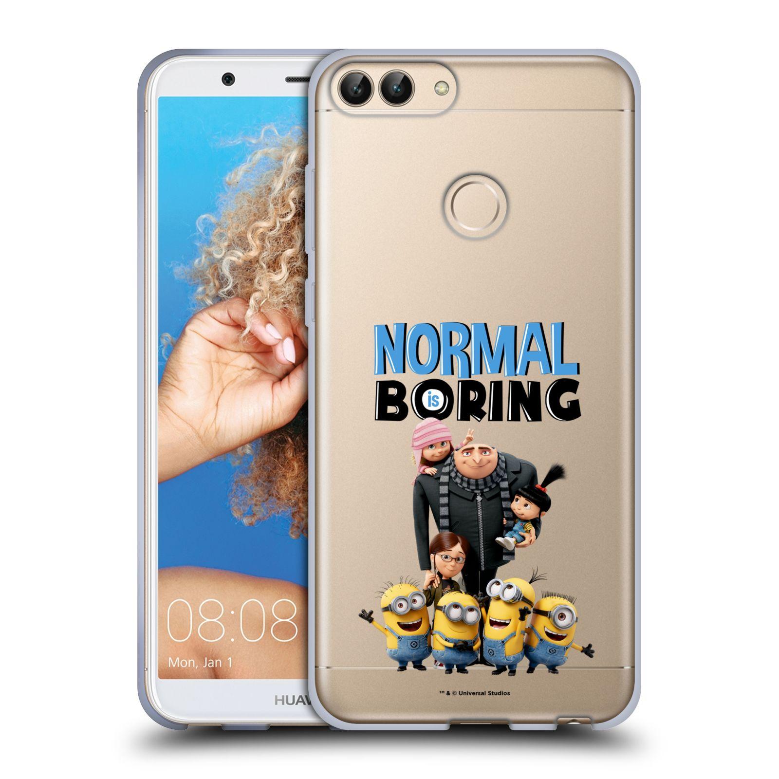 Silikonové pouzdro na mobil Huawei P Smart - Head Case - Normal is boring z filmu Já, padouch - Despicable Me