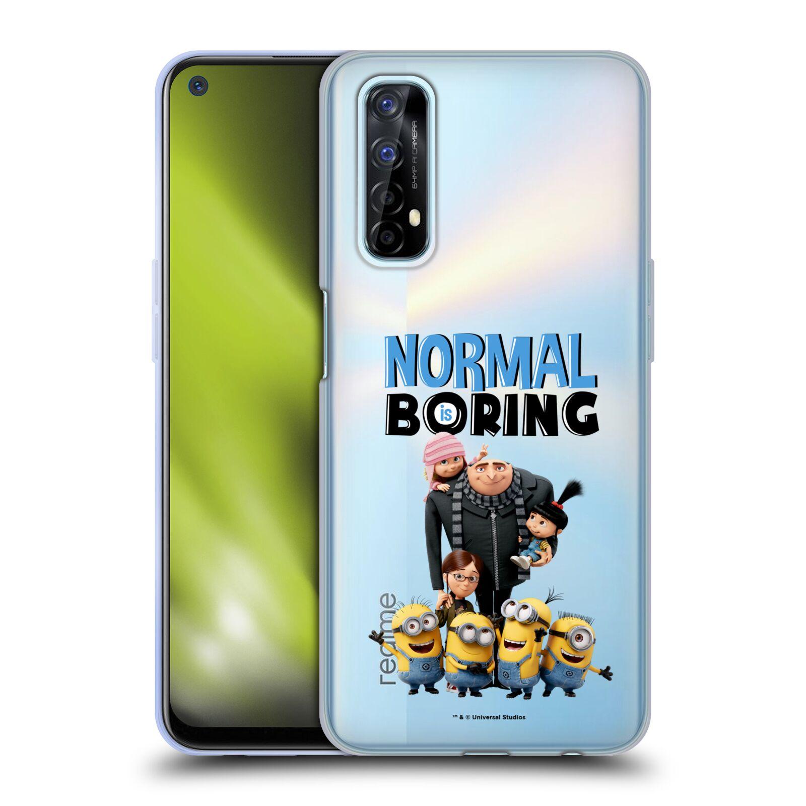 Silikonové pouzdro na mobil Realme 7 - Head Case - Normal is boring z filmu Já, padouch - Despicable Me