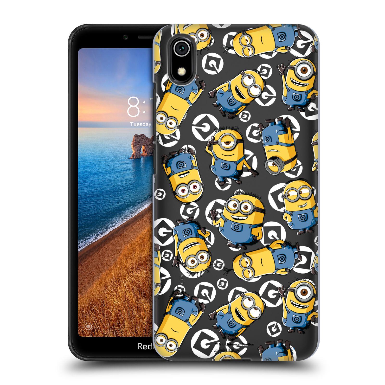 Plastové pouzdro na mobil Xiaomi Redmi 7A - Head Case - Minion pattern z filmu Já, padouch - Despicable Me