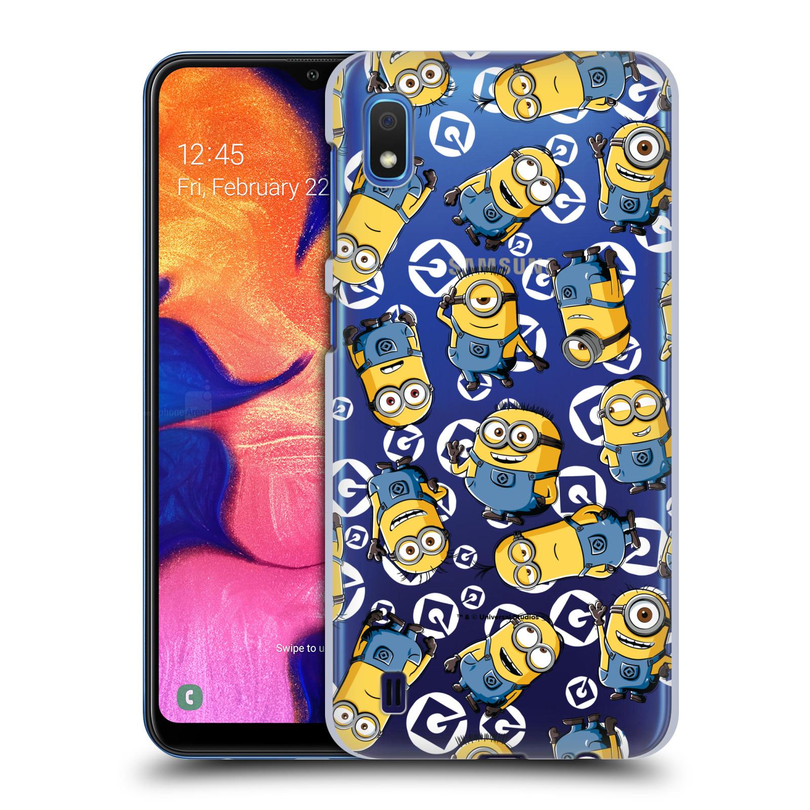 Plastové pouzdro na mobil Samsung Galaxy A10 - Head Case - Minion pattern z filmu Já, padouch - Despicable Me