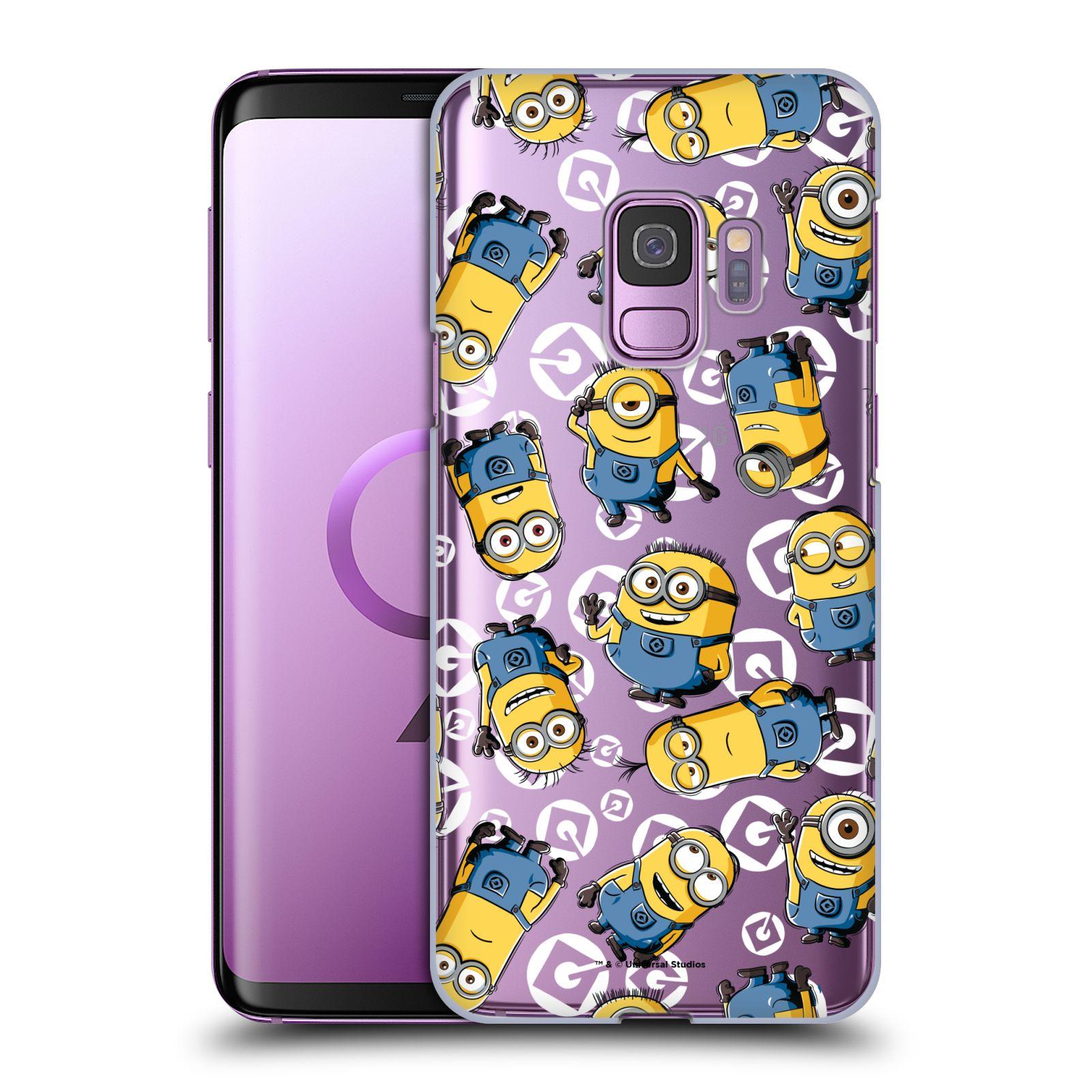 Plastové pouzdro na mobil Samsung Galaxy S9 - Head Case - Minion pattern z filmu Já, padouch - Despicable Me