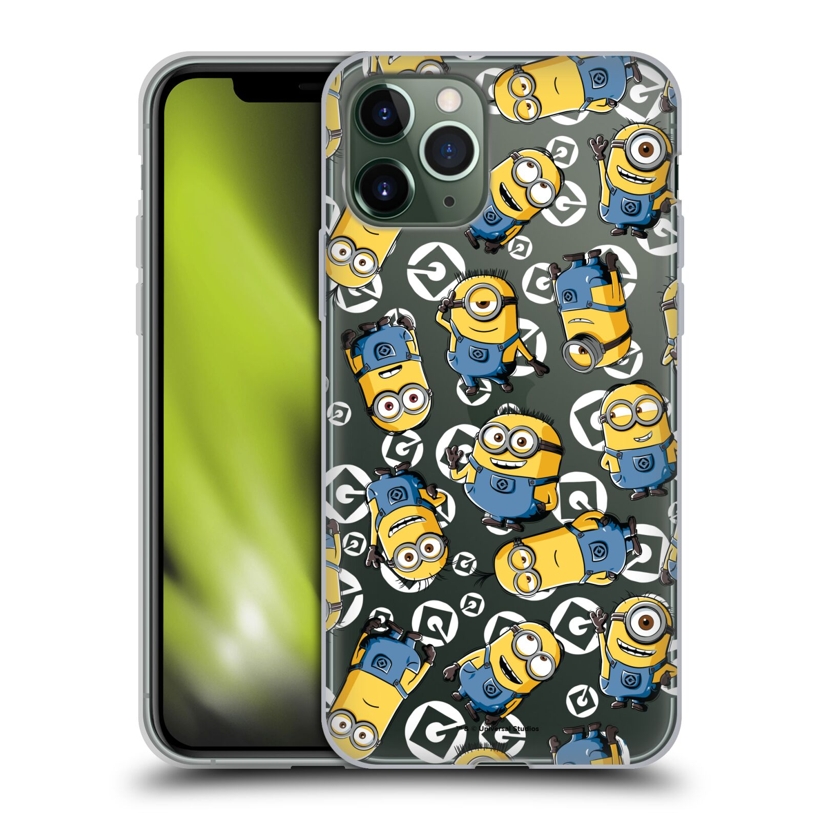 iphone 8 plus kryt gucci | Silikonové pouzdro na mobil Apple iPhone 11 Pro - Head Case - Minion pattern z filmu Já, padouch - Despicable Me