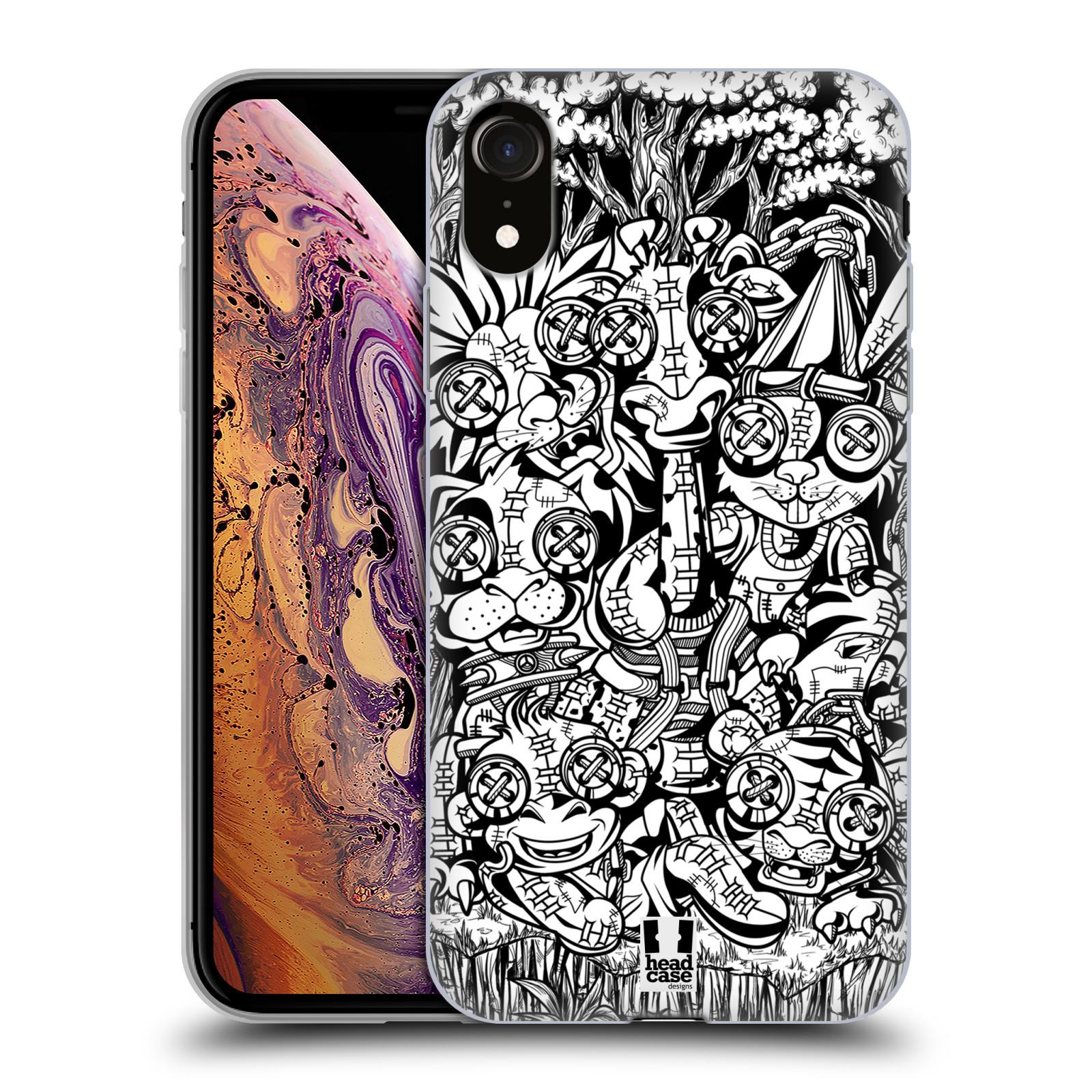 Silikonové pouzdro na mobil Apple iPhone XR - Head Case - VOODOO ZVÍŘÁTKA