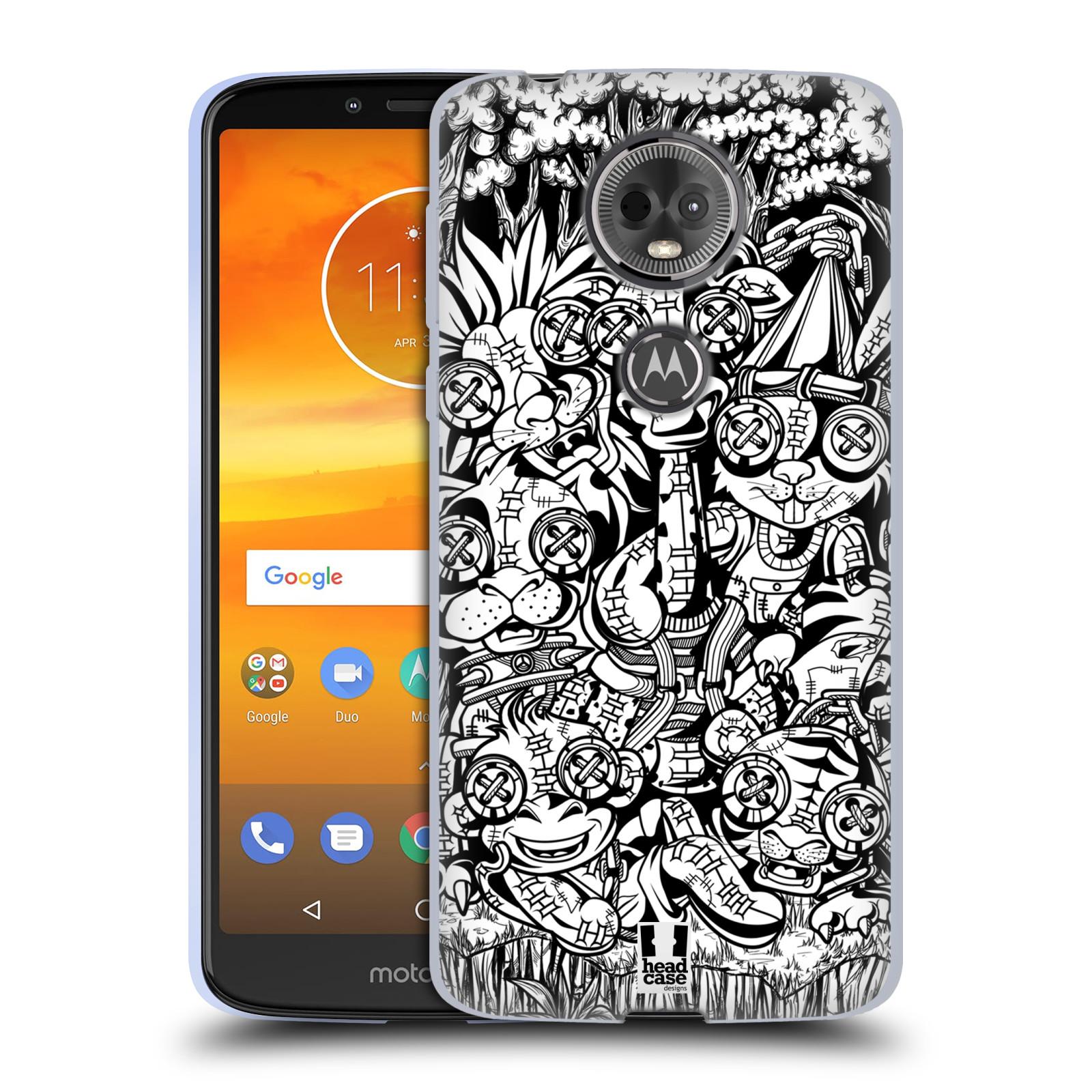 Silikonové pouzdro na mobil Motorola Moto E5 Plus - Head Case - VOODOO ZVÍŘÁTKA
