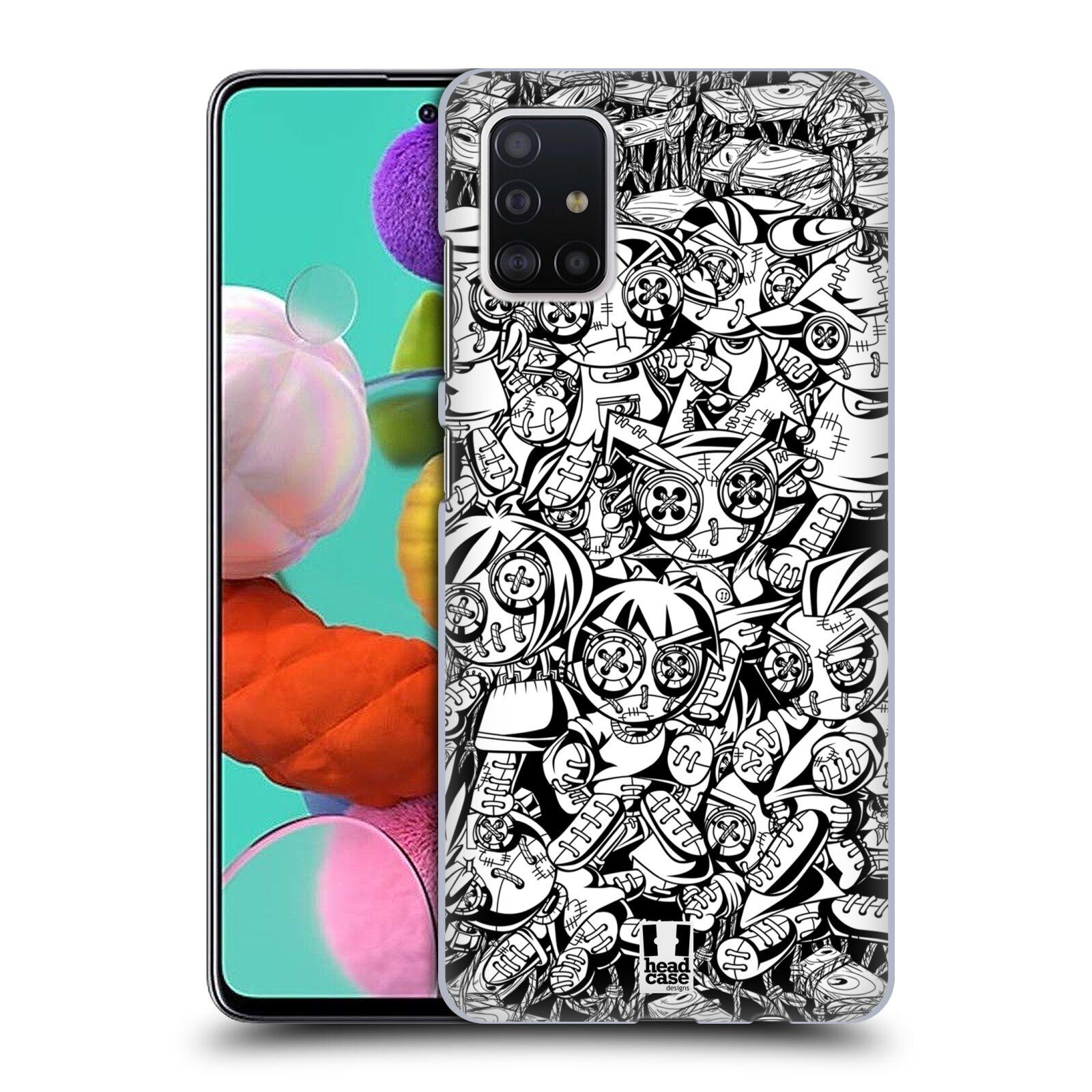 Plastové pouzdro na mobil Samsung Galaxy A51 - Head Case - VOODOO PUNK