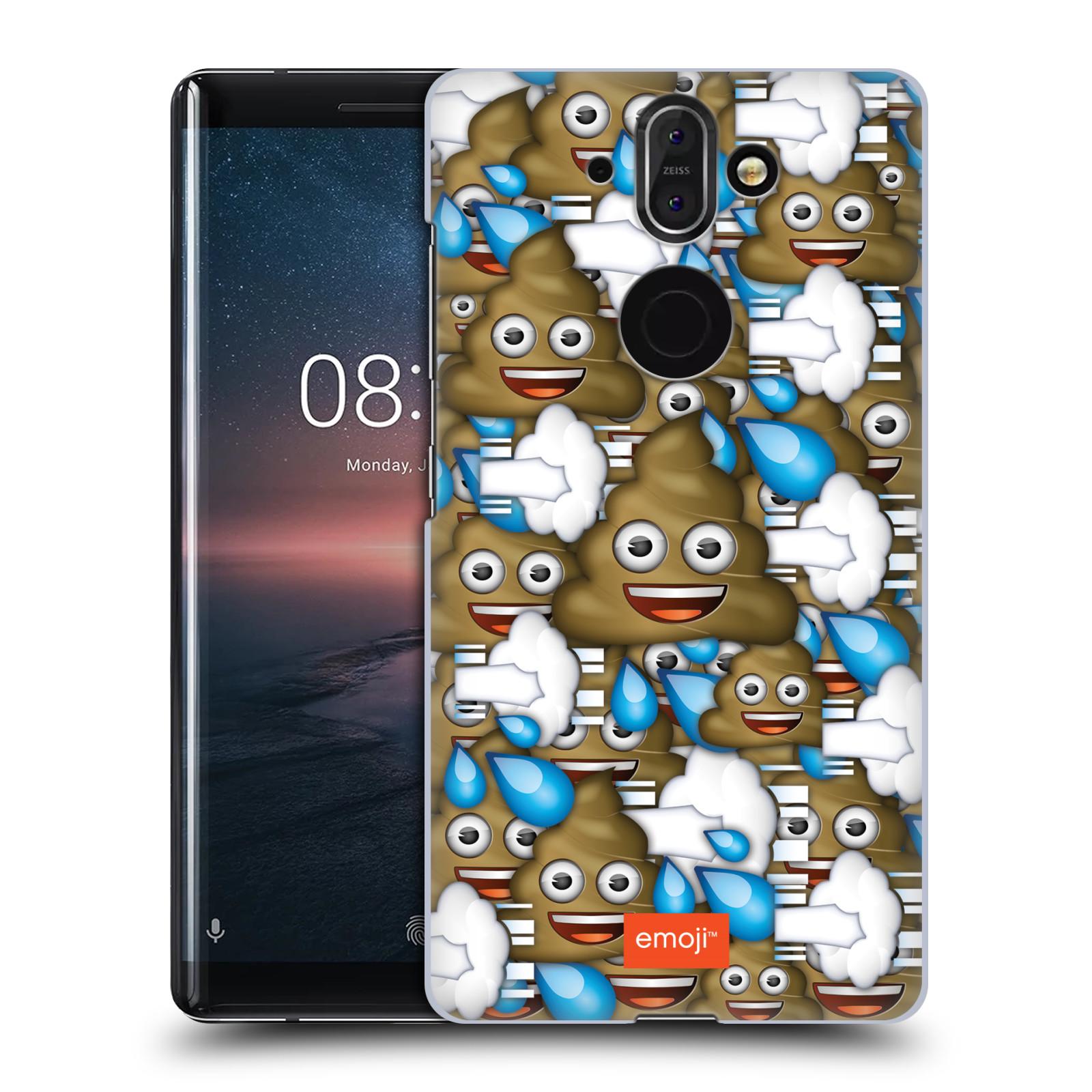 Plastové pouzdro na mobil Nokia 8 Sirocco - Head Case - EMOJI - Hovínka a prdíky