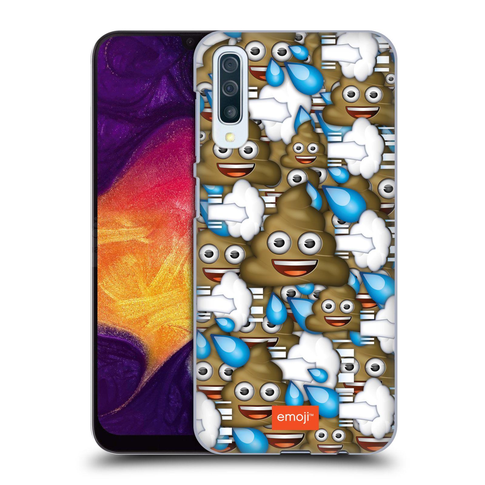Plastové pouzdro na mobil Samsung Galaxy A50 / A30s - Head Case - EMOJI - Hovínka a prdíky