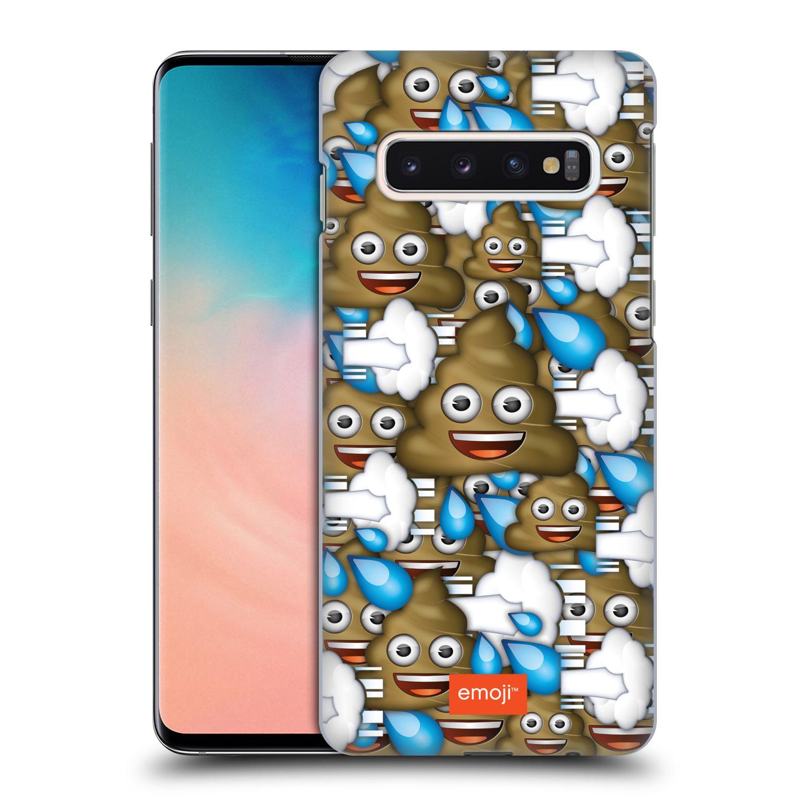 Plastové pouzdro na mobil Samsung Galaxy S10 - Head Case - EMOJI - Hovínka a prdíky